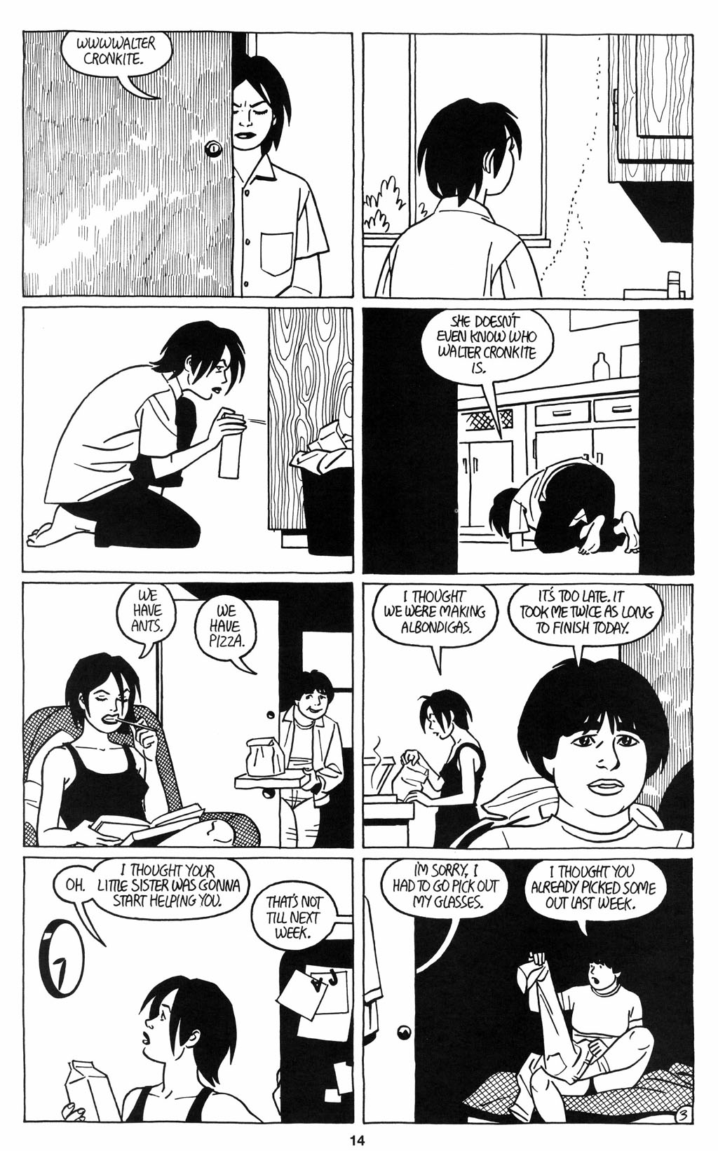 Read online Love and Rockets (2001) comic -  Issue #12 - 15