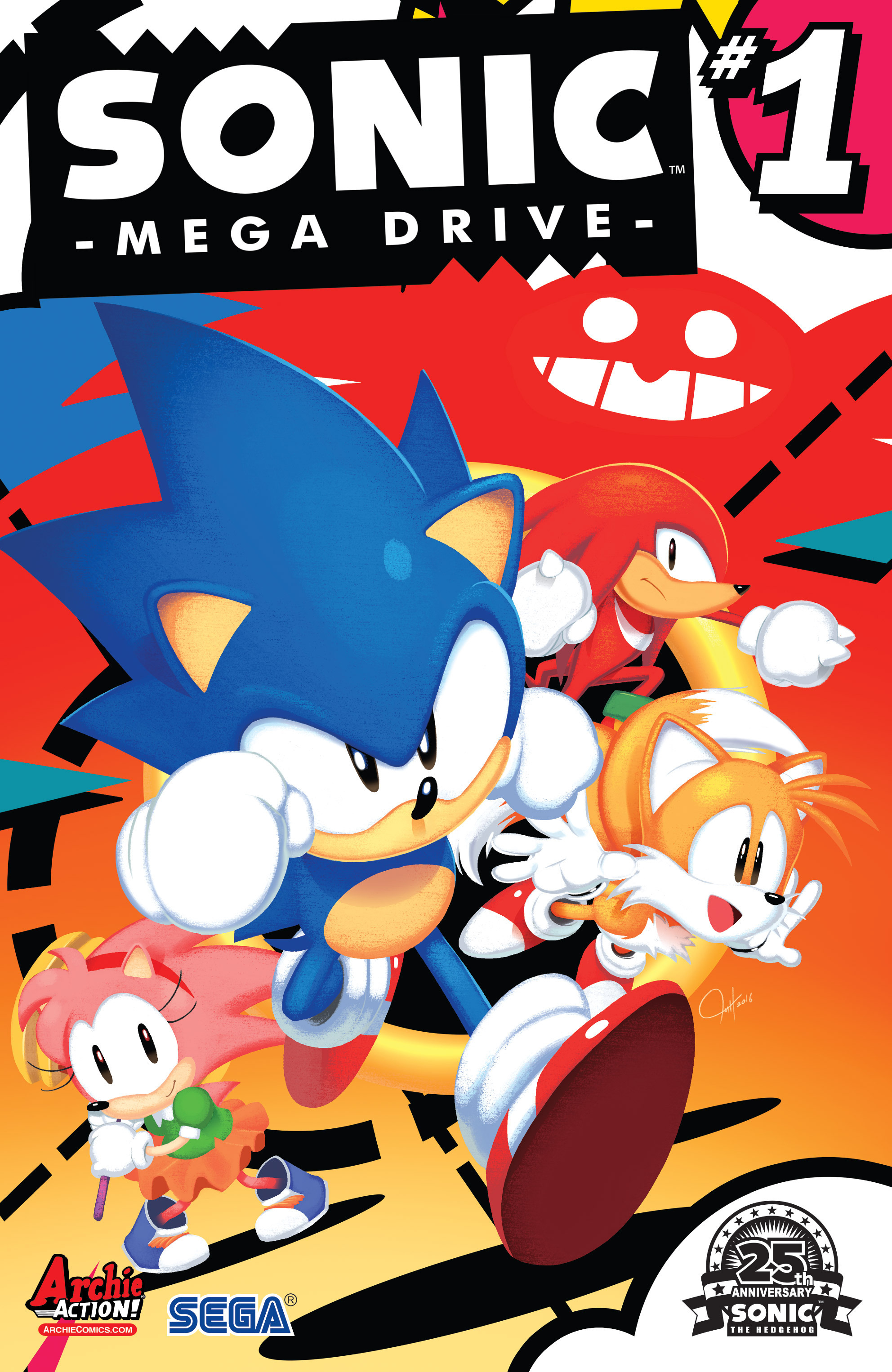Sonic: Mega Drive issue 1 - Page 1
