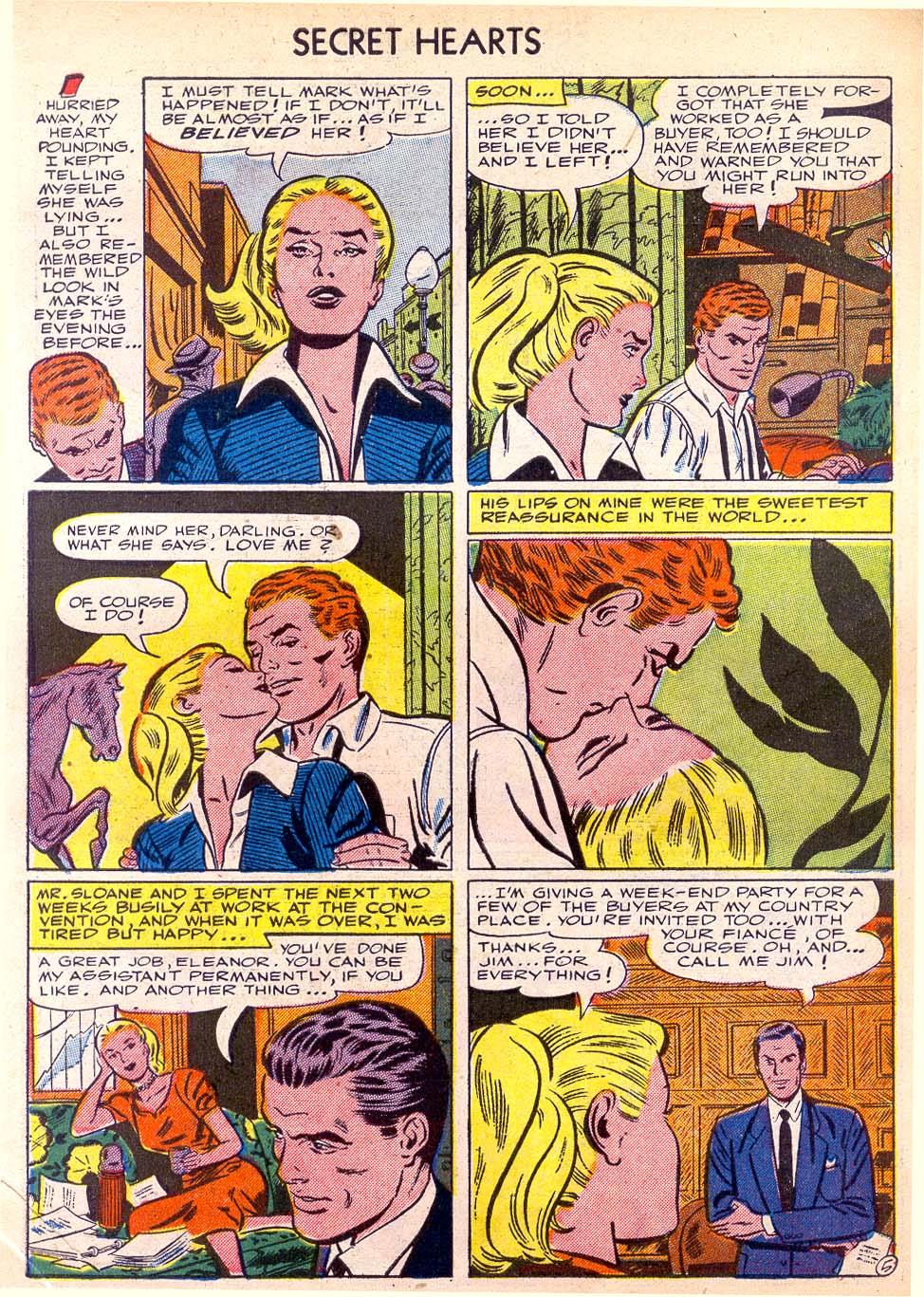 Read online Secret Hearts comic -  Issue #11 - 7