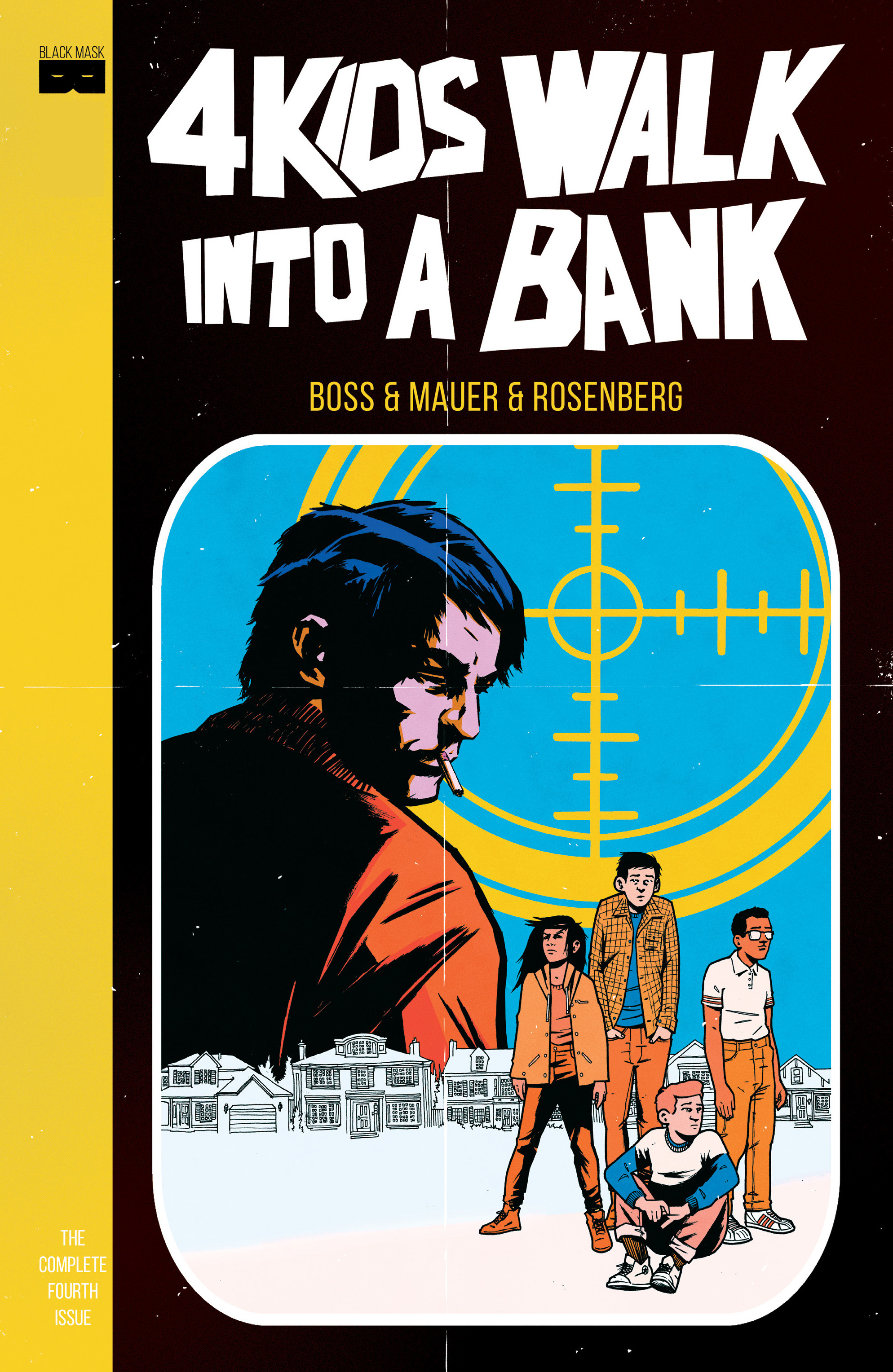 4 Kids Walk Into a Bank 4 Page 1