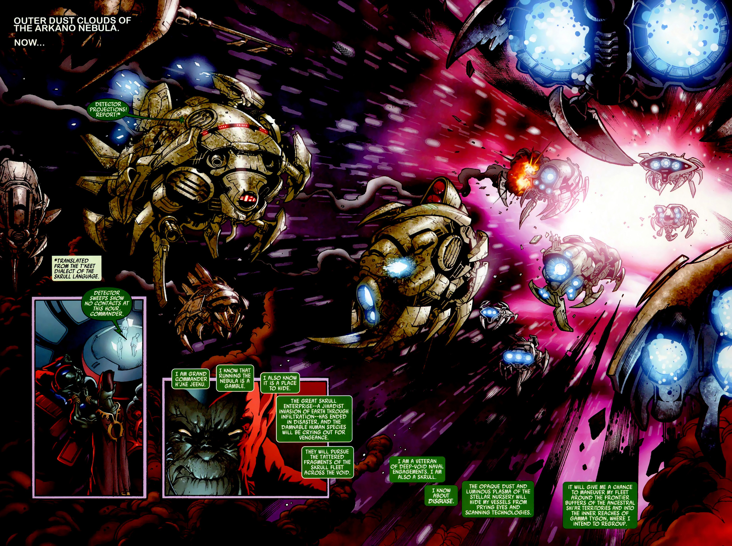 Read online Secret Invasion: War of Kings comic -  Issue # Full - 4