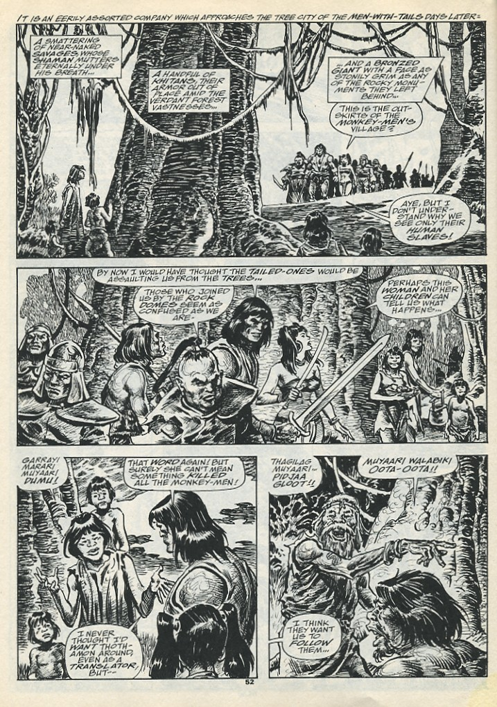 The Savage Sword Of Conan Issue #193 #194 - English 54