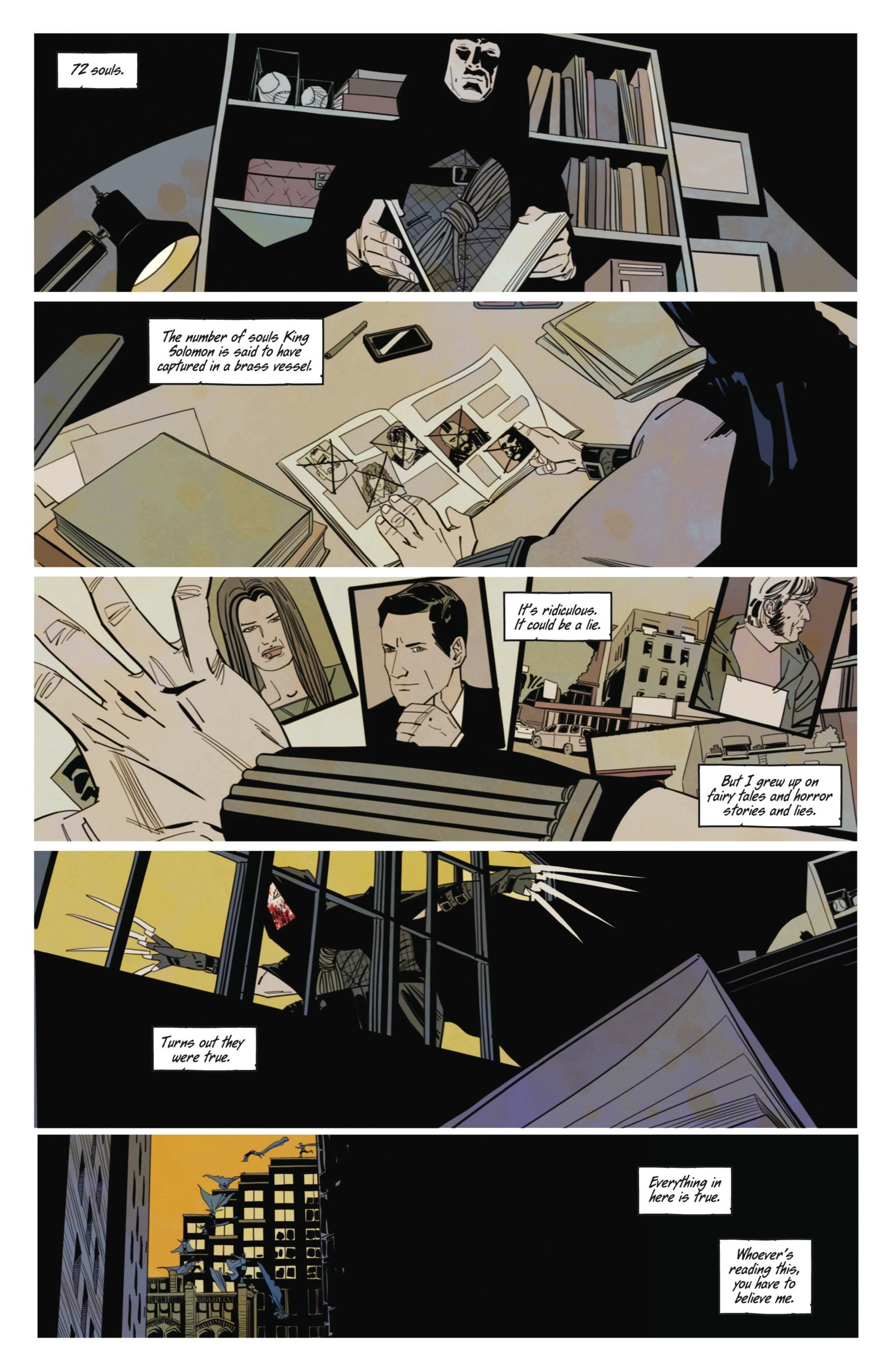 Read online Demonic comic -  Issue #3 - 18