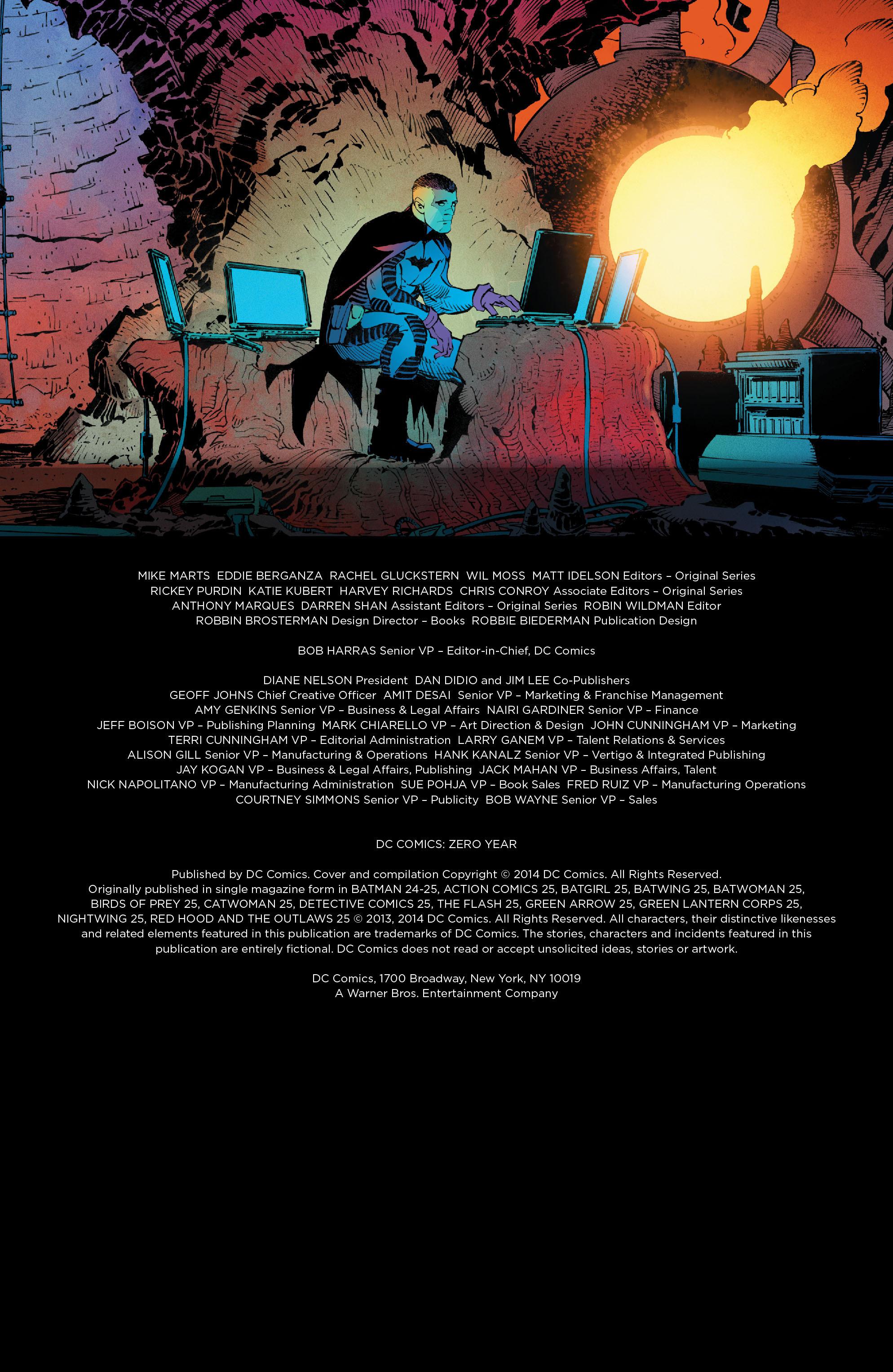 DC Comics: Zero Year chap tpb pic 4
