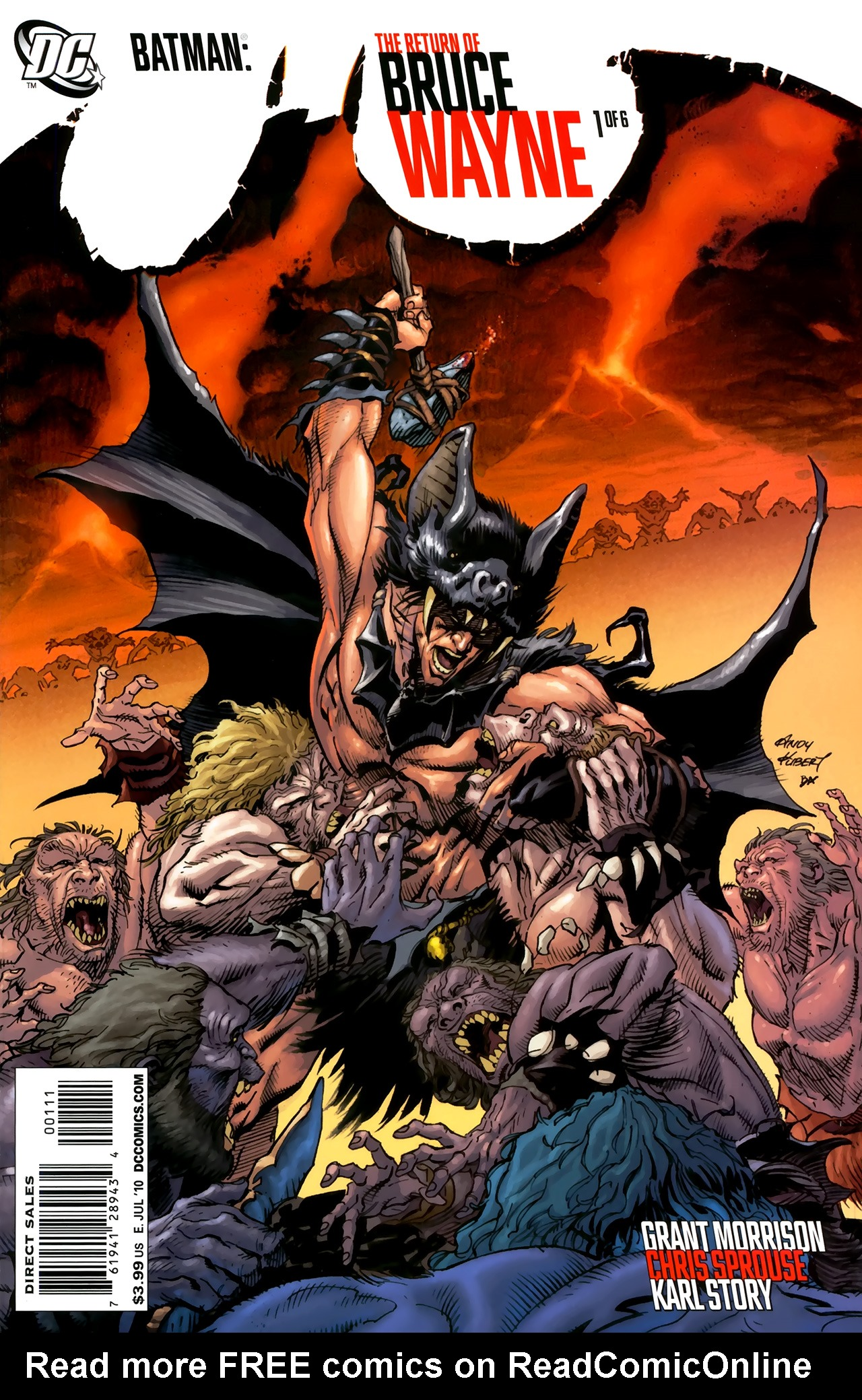 Batman: The Return of Bruce Wayne 1 Page 1