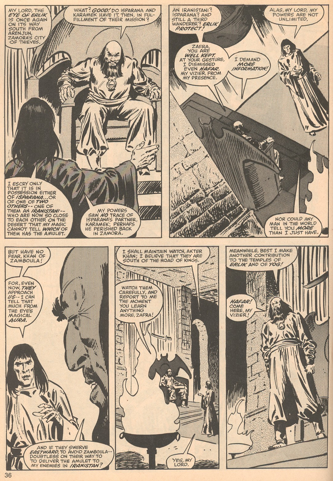 The Savage Sword Of Conan Issue #56 #57 - English 36