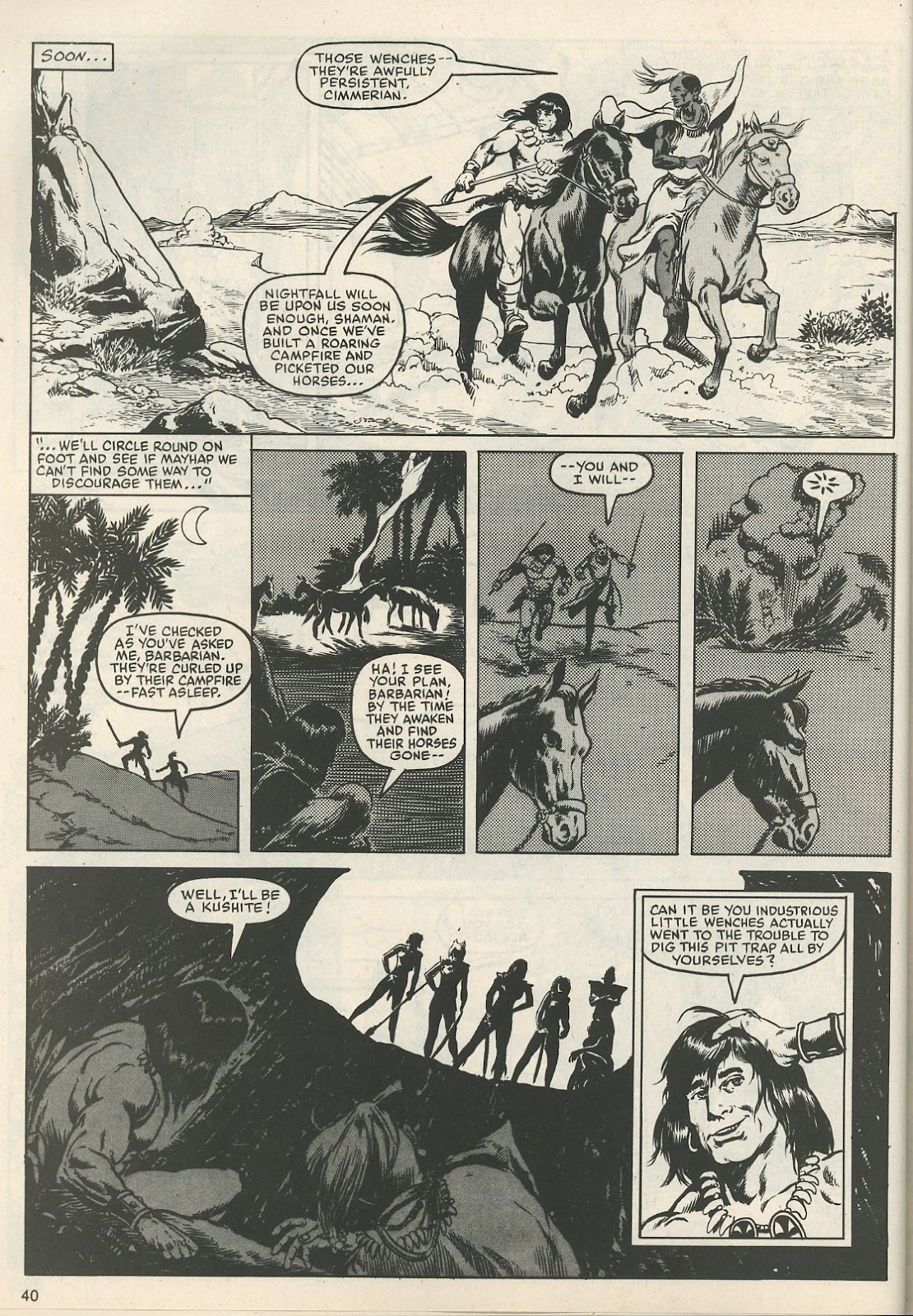 The Savage Sword Of Conan Issue #111 #112 - English 41