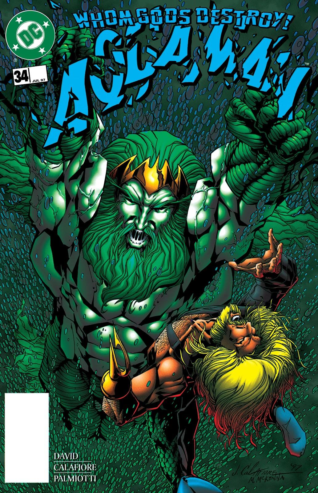 Aquaman (1994) Issue #34 #40 - English 1