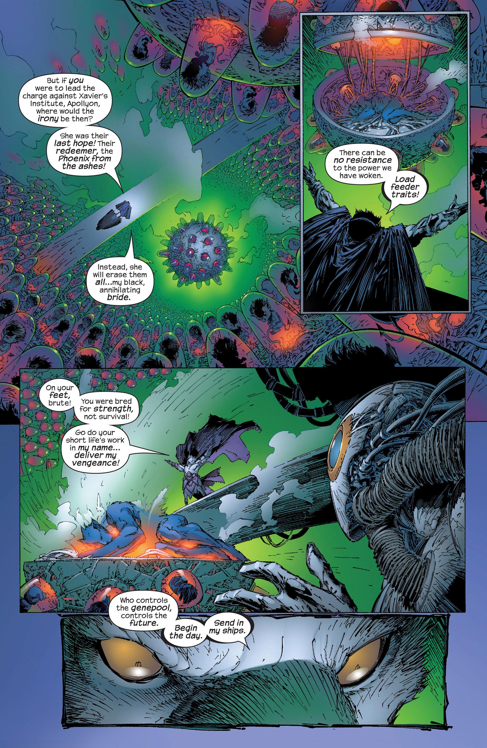 Read online New X-Men (2001) comic -  Issue #153 - 7