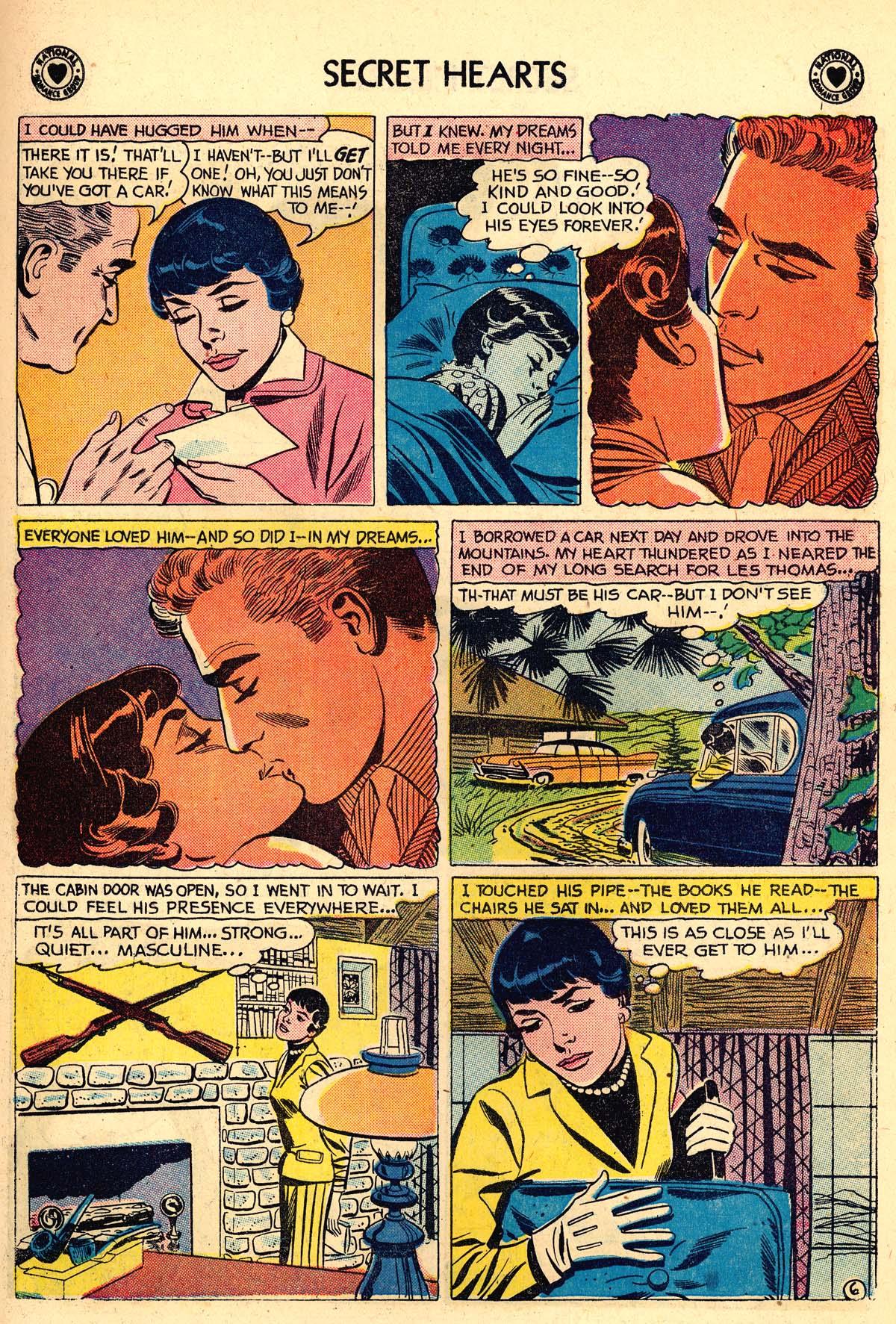 Read online Secret Hearts comic -  Issue #59 - 15
