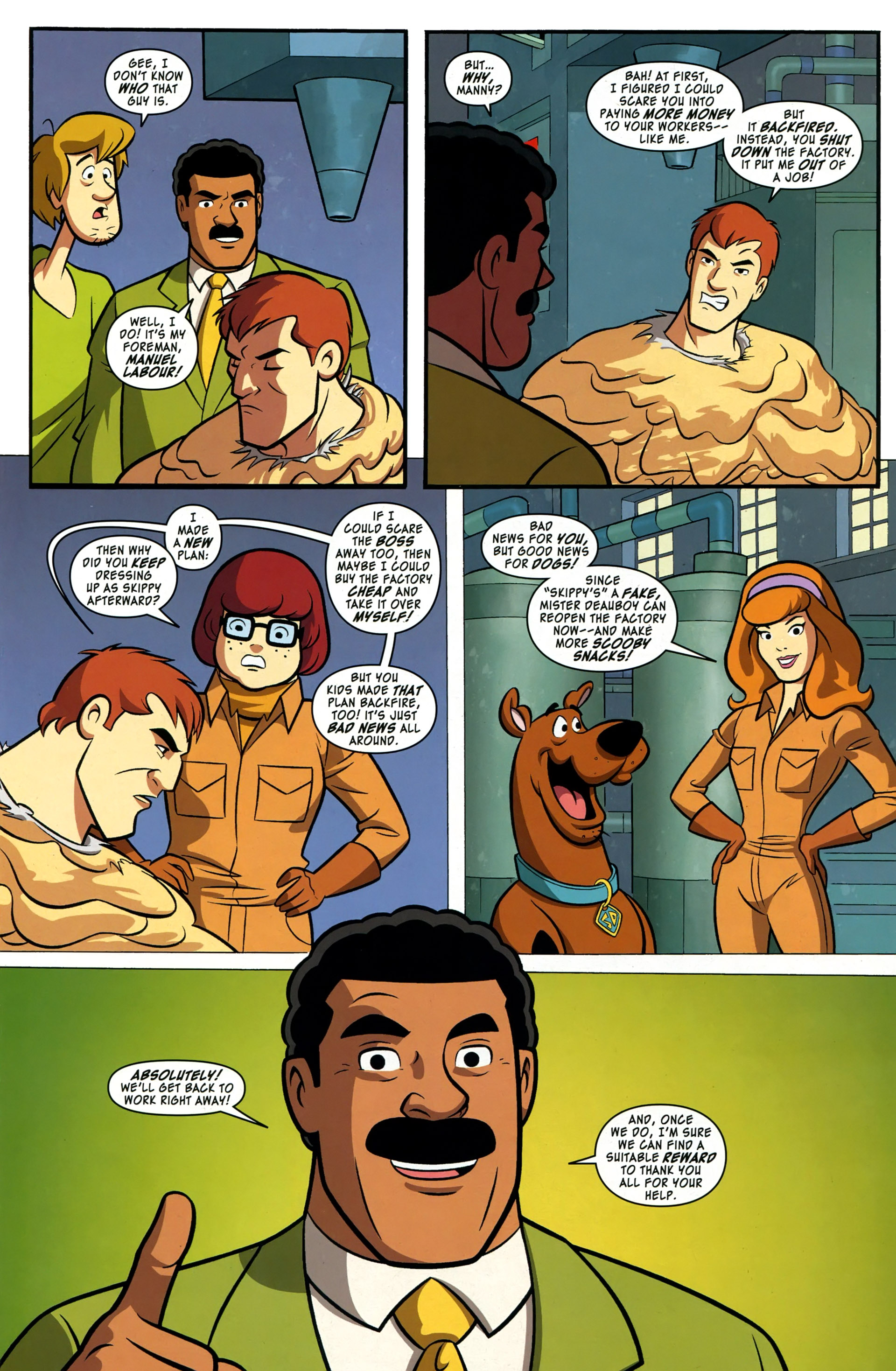Read online Scooby-Doo: Where Are You? comic -  Issue #37 - 12