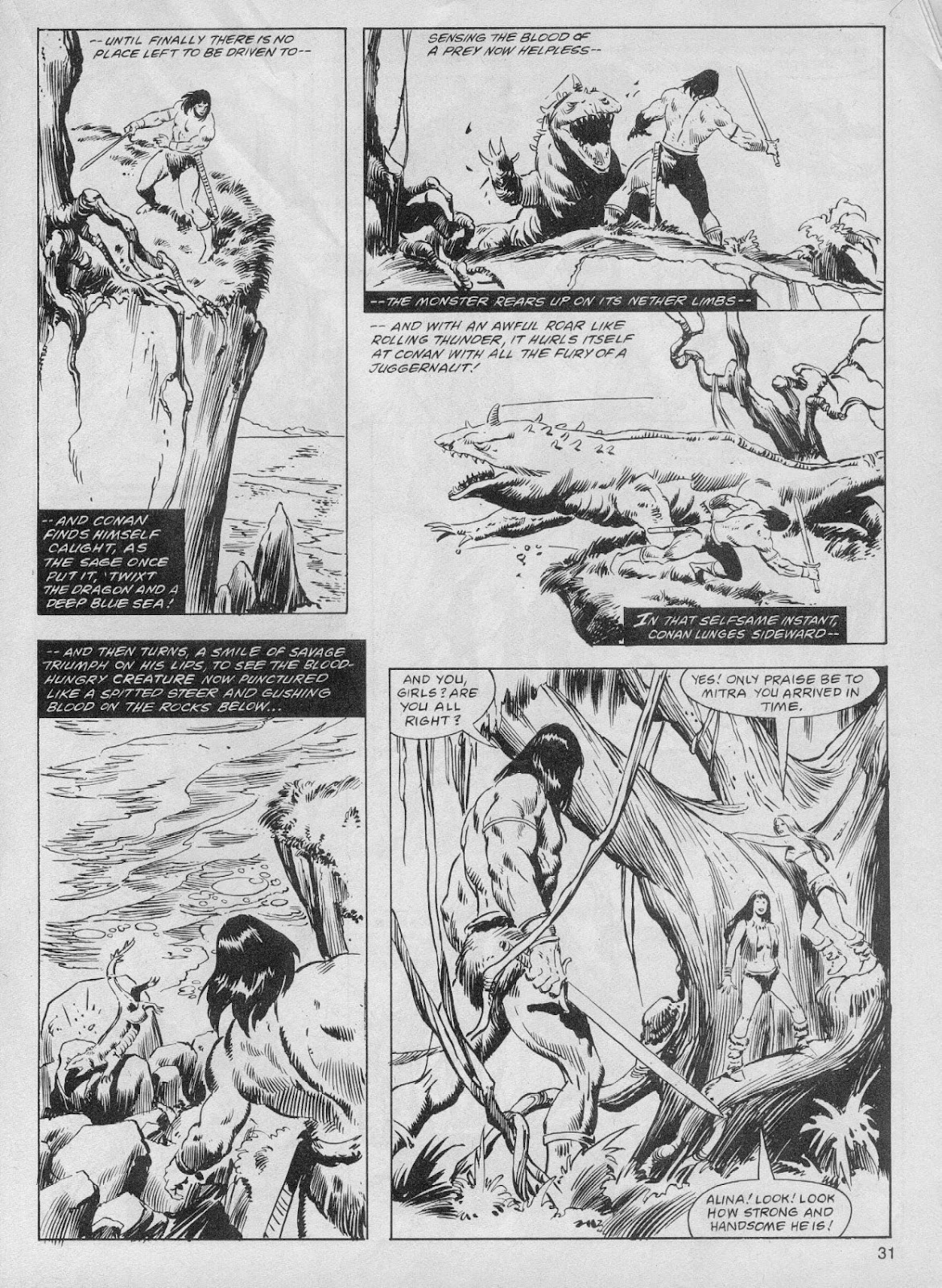 The Savage Sword Of Conan Issue #61 #62 - English 31