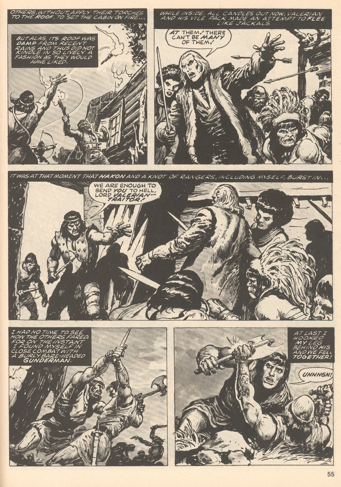 The Savage Sword Of Conan Issue #76 #77 - English 55
