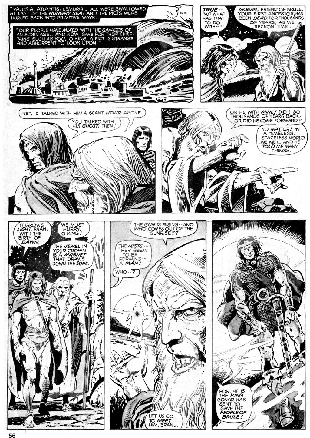 The Savage Sword Of Conan Issue #42 #43 - English 56
