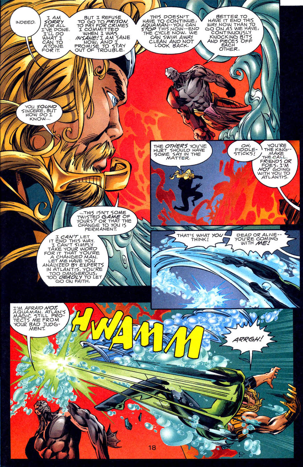 Aquaman (1994) Issue #62 #68 - English 19