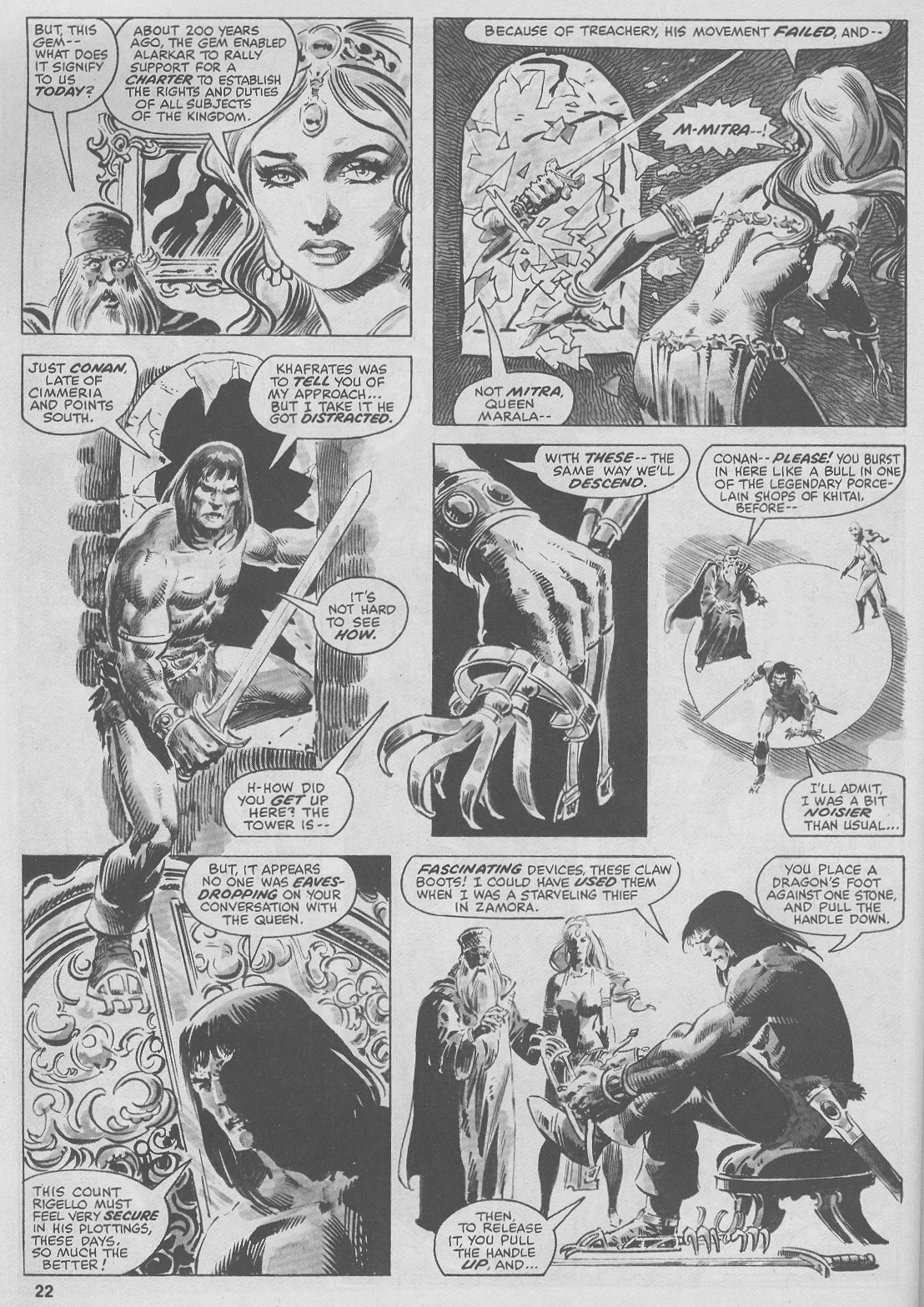 The Savage Sword Of Conan Issue #44 #45 - English 22
