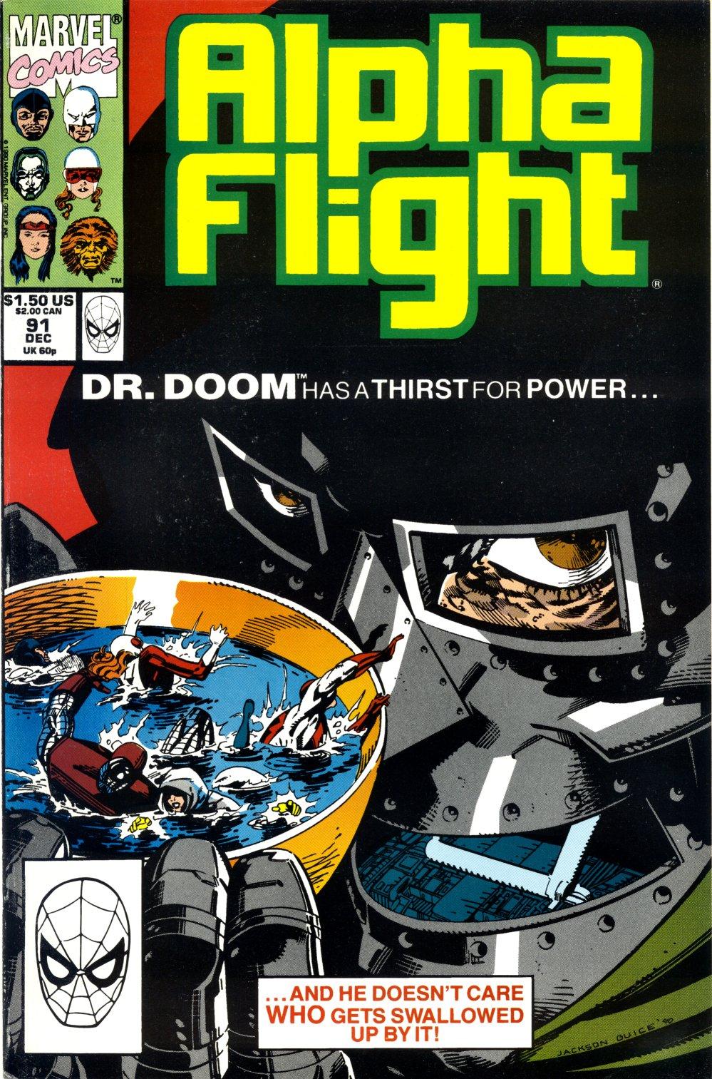 Alpha Flight (1983) 91 Page 1