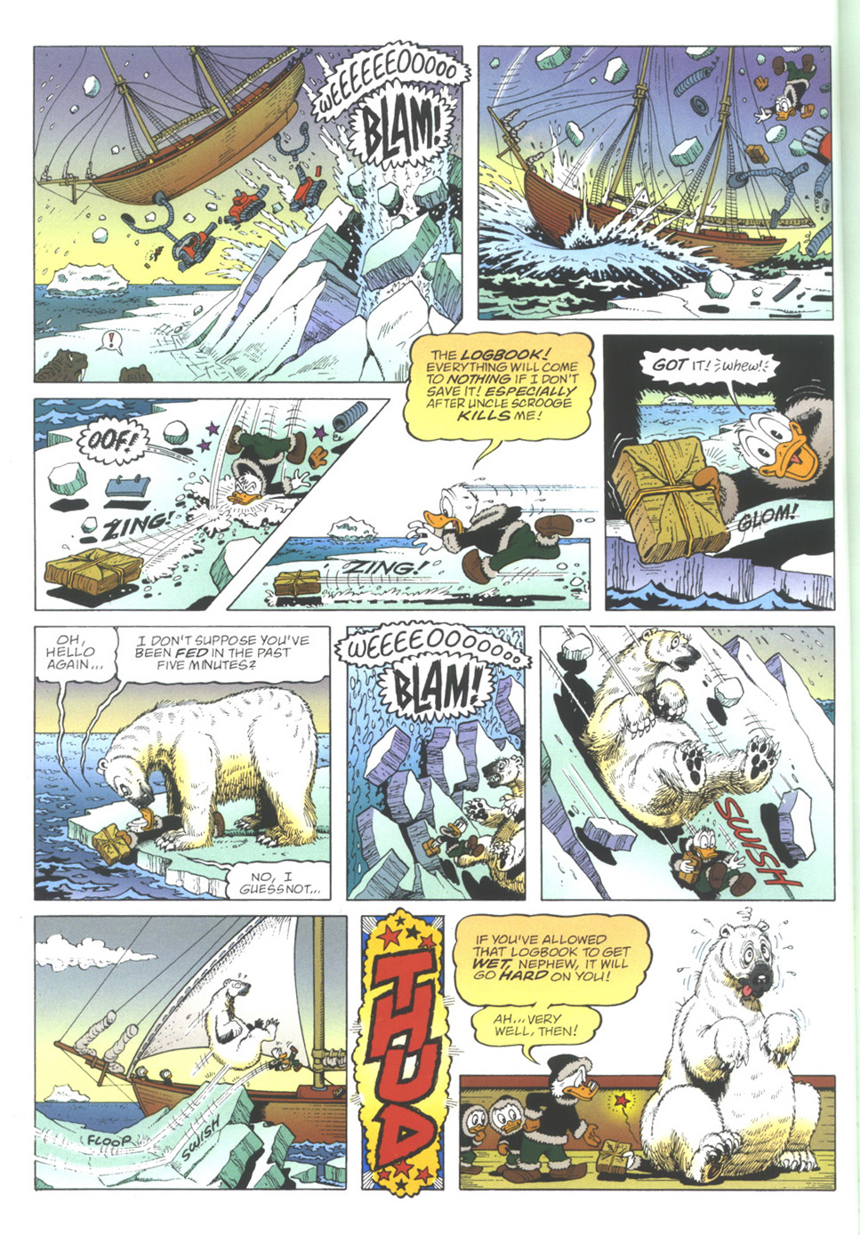 Uncle Scrooge (1953) Issue #339 #339 - English 10