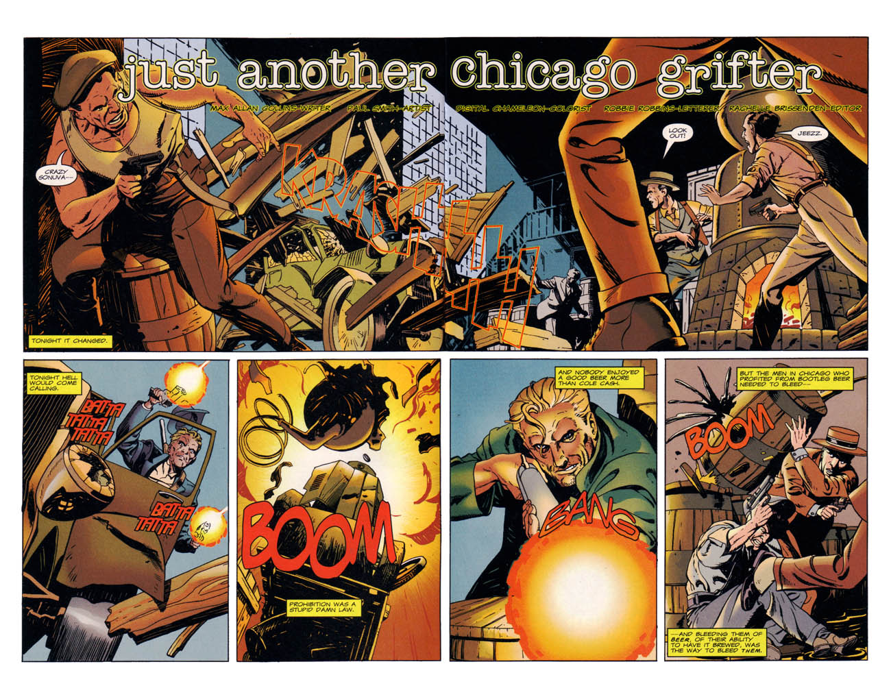 Read online Wild Times: Grifter comic -  Issue # Full - 4