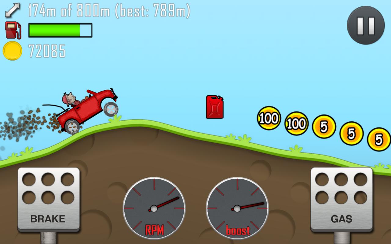 Download Hill Climb Racing Torrent Android APK 2013