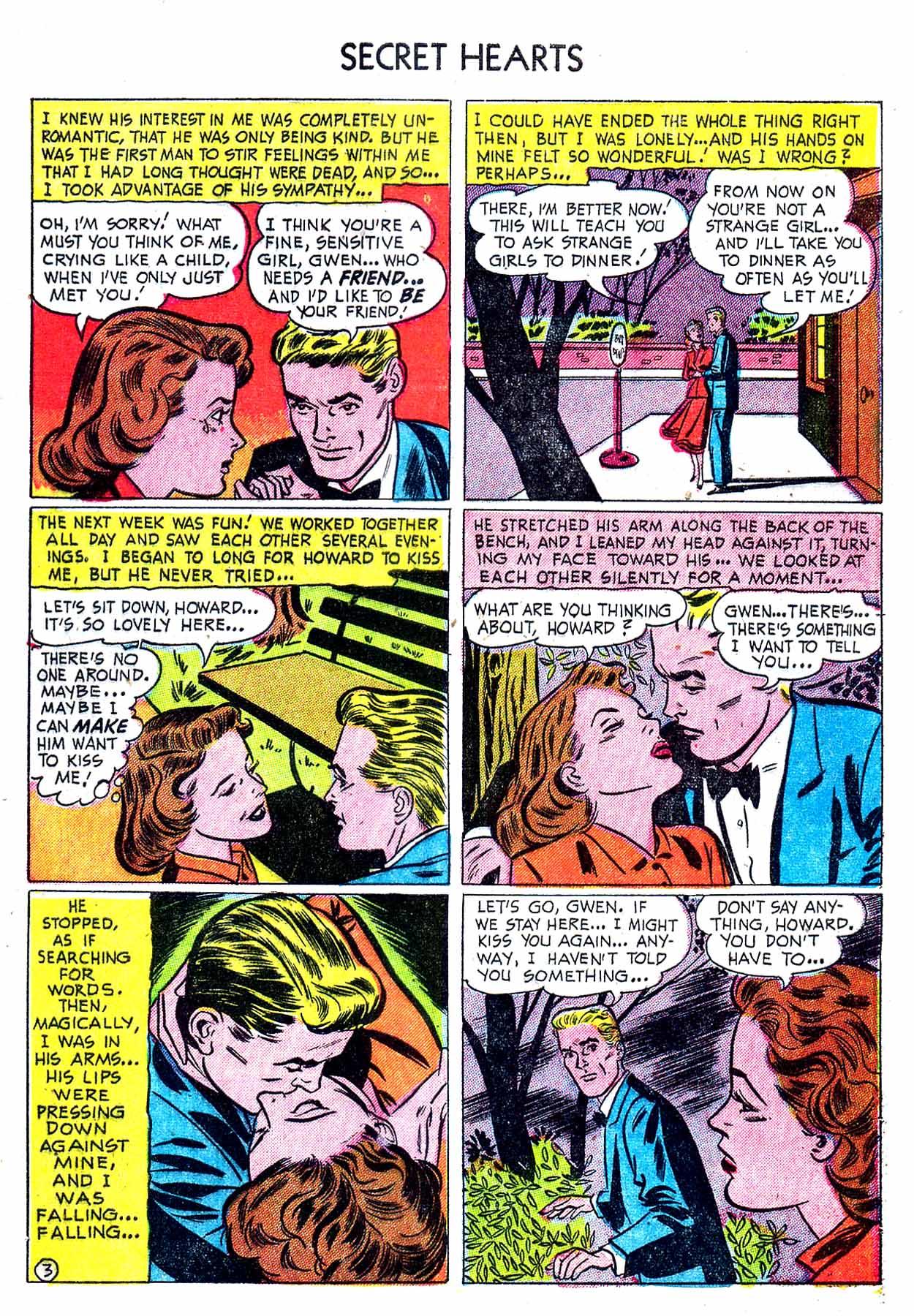 Read online Secret Hearts comic -  Issue #8 - 29