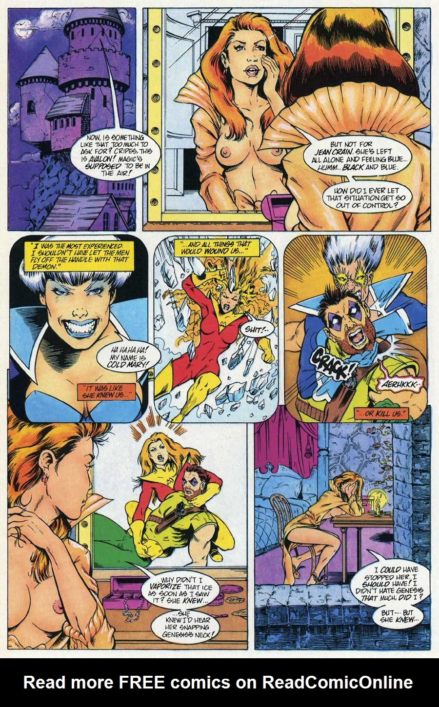 Read online Elementals Sex Special comic -  Issue #4 - 14