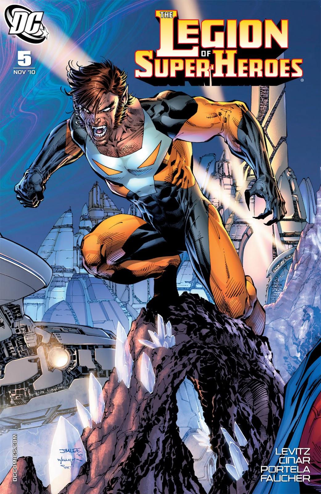 Legion of Super-Heroes (2010) Issue #5 #6 - English 2