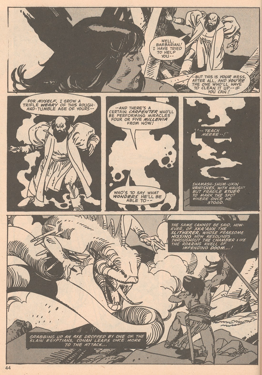 The Savage Sword Of Conan Issue #65 #66 - English 44