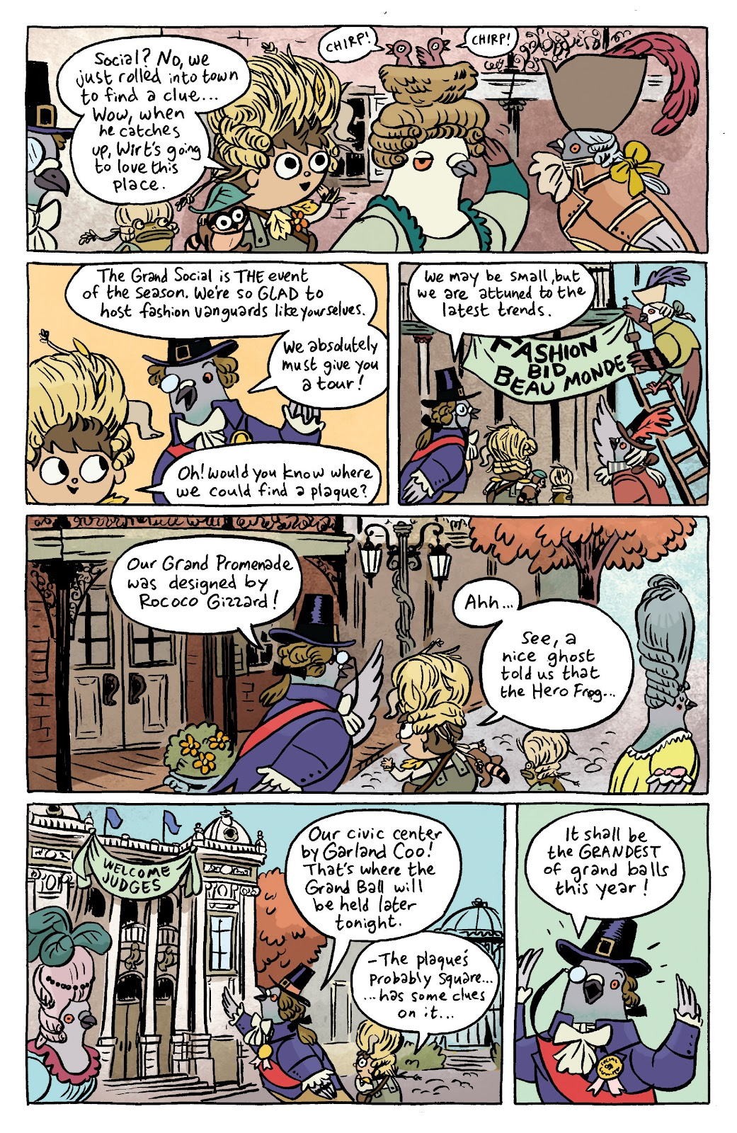 Over the Garden Wall (2016) Issue #7 #7 - English 5