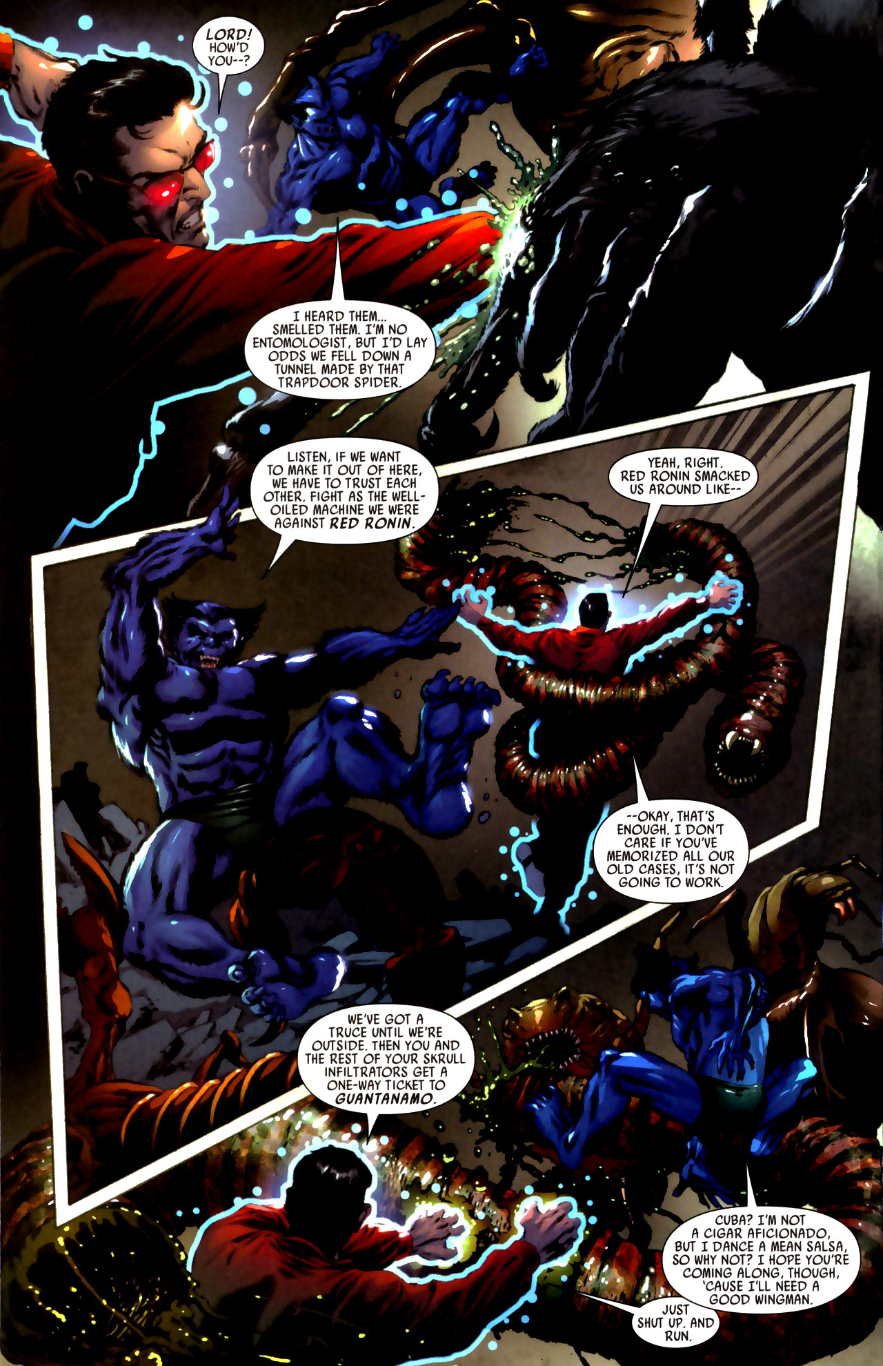 Read online Secret Invasion: Who Do You Trust? comic -  Issue # Full - 24