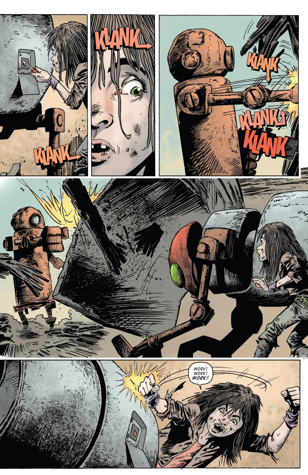 Zombies vs Robots (2015) Issue #1 Page 23