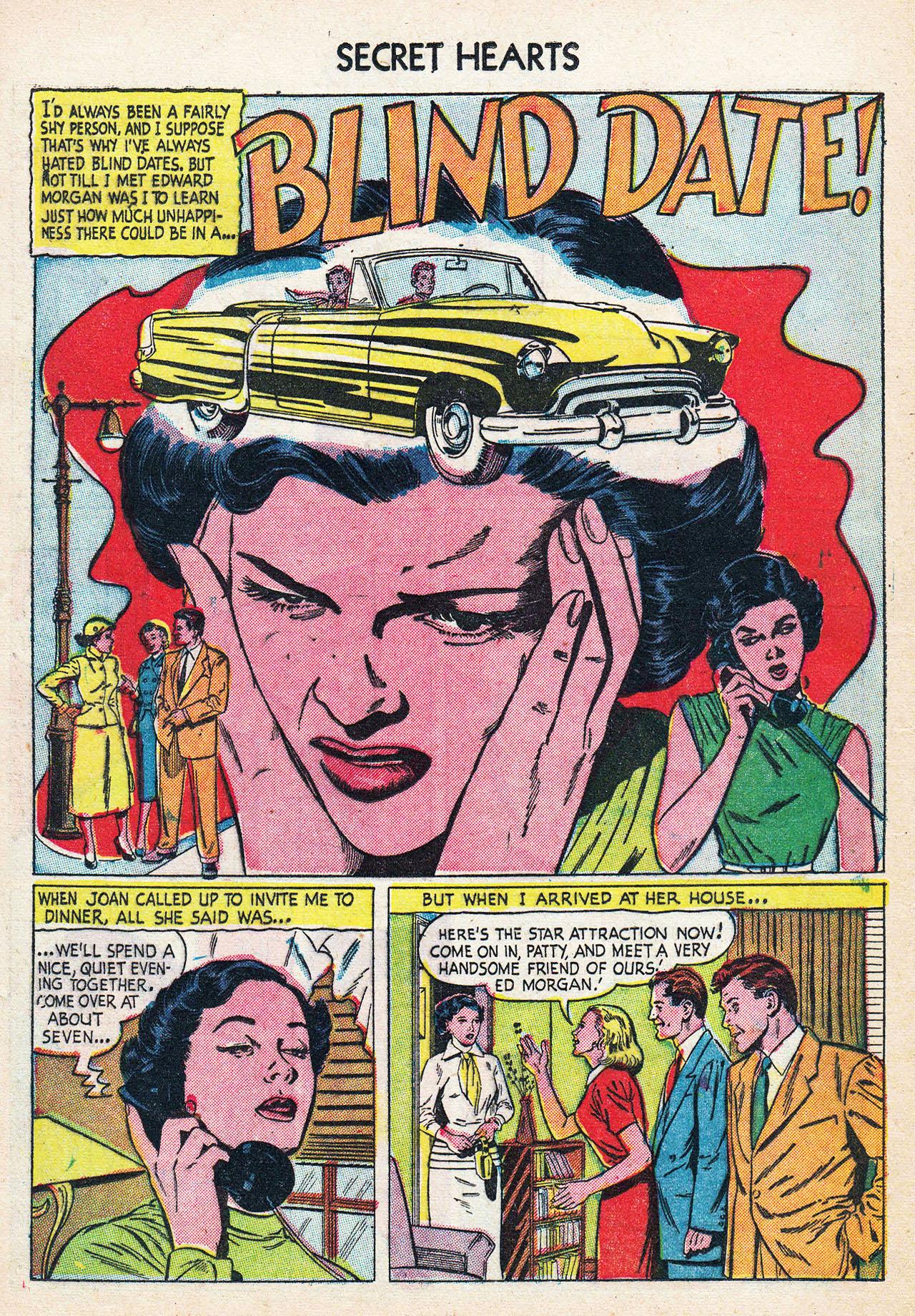 Read online Secret Hearts comic -  Issue #24 - 12
