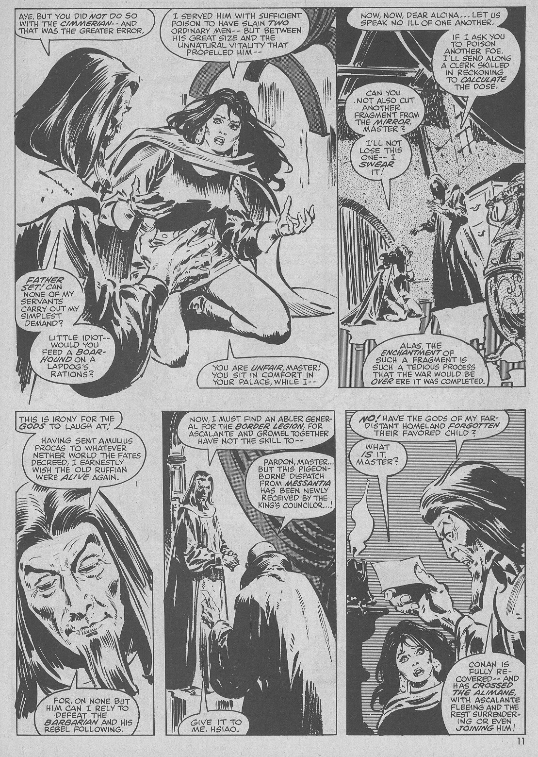 The Savage Sword Of Conan Issue #51 #52 - English 11