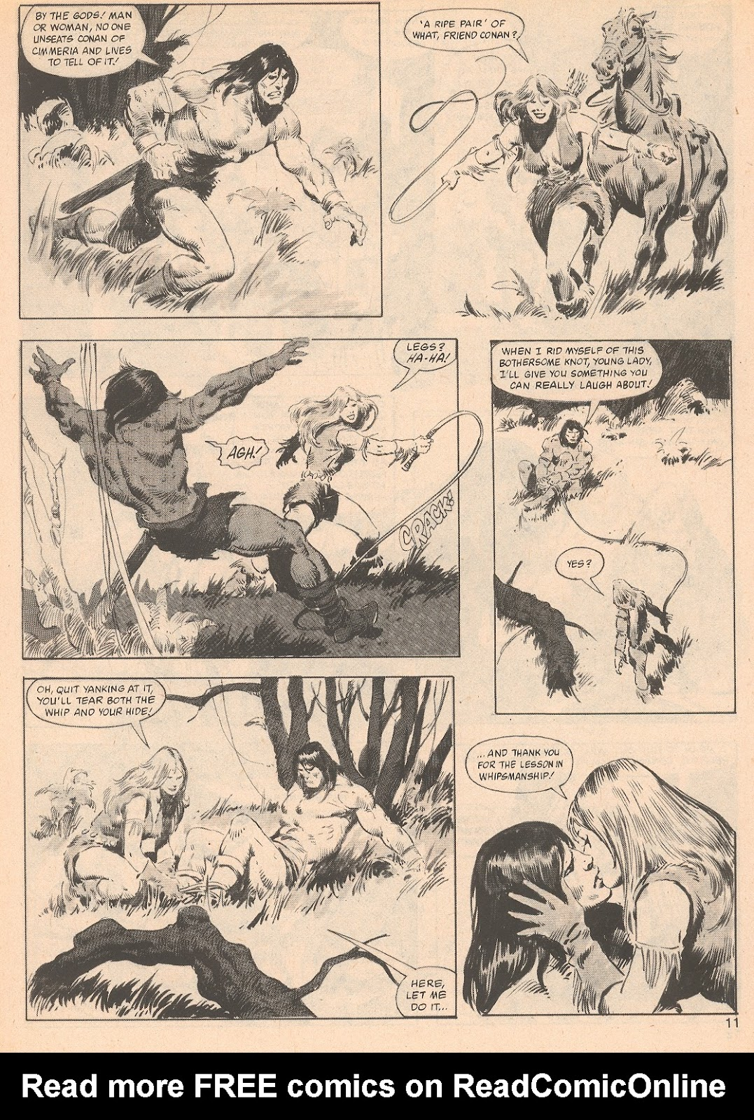 The Savage Sword Of Conan Issue #70 #71 - English 11