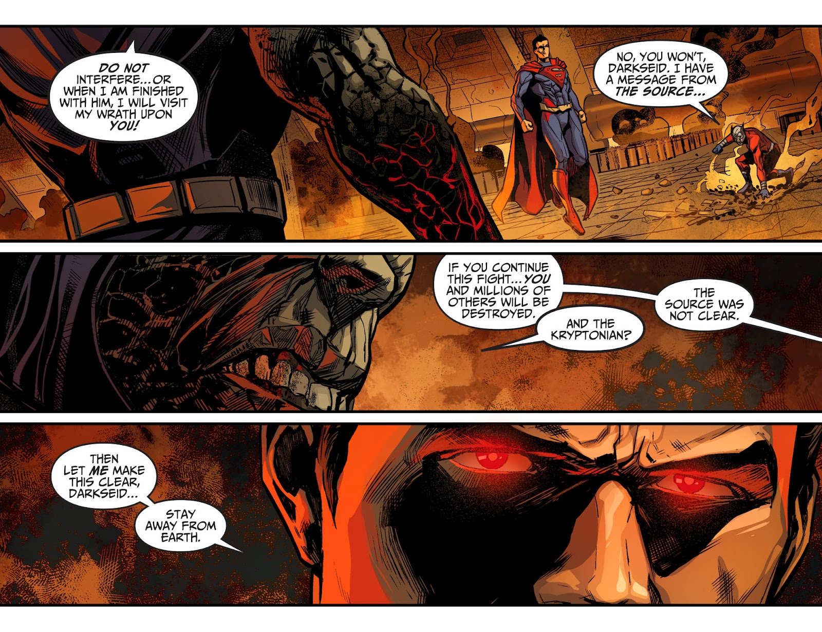 Injustice: Gods Among Us Year Four Issue #22 #23 - English 13
