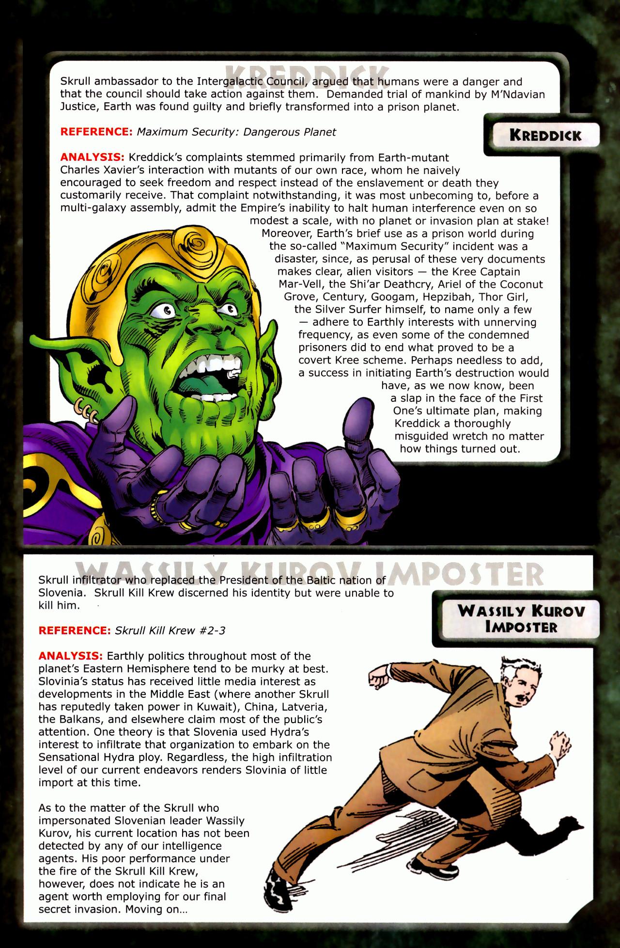 Read online Skrulls! comic -  Issue # Full - 27