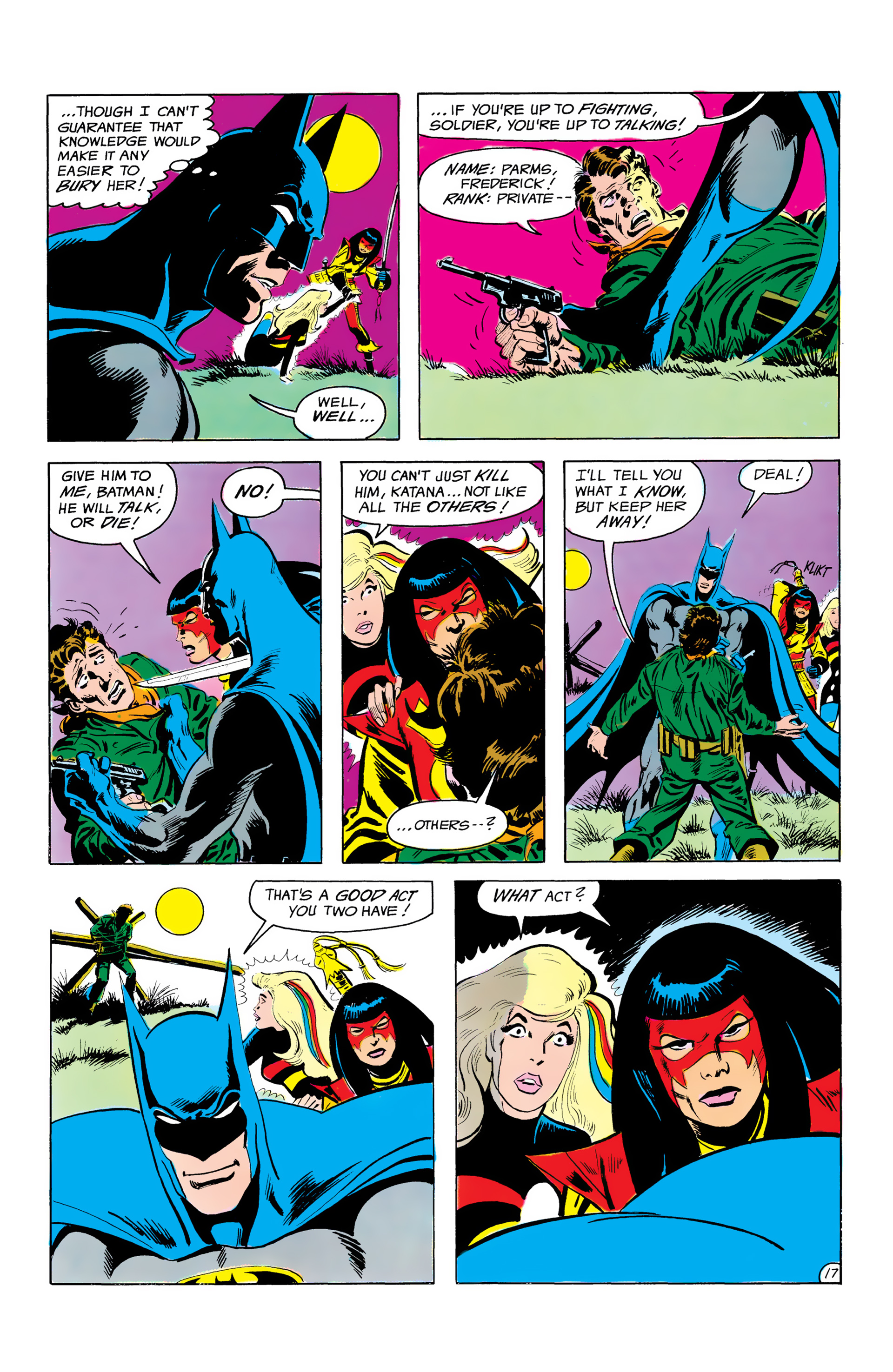 Batman and the Outsiders (1983) 3 Page 17