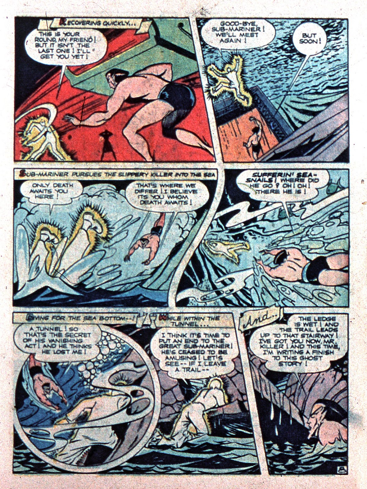 Sub-Mariner Comics Issue #15 #15 - English 23