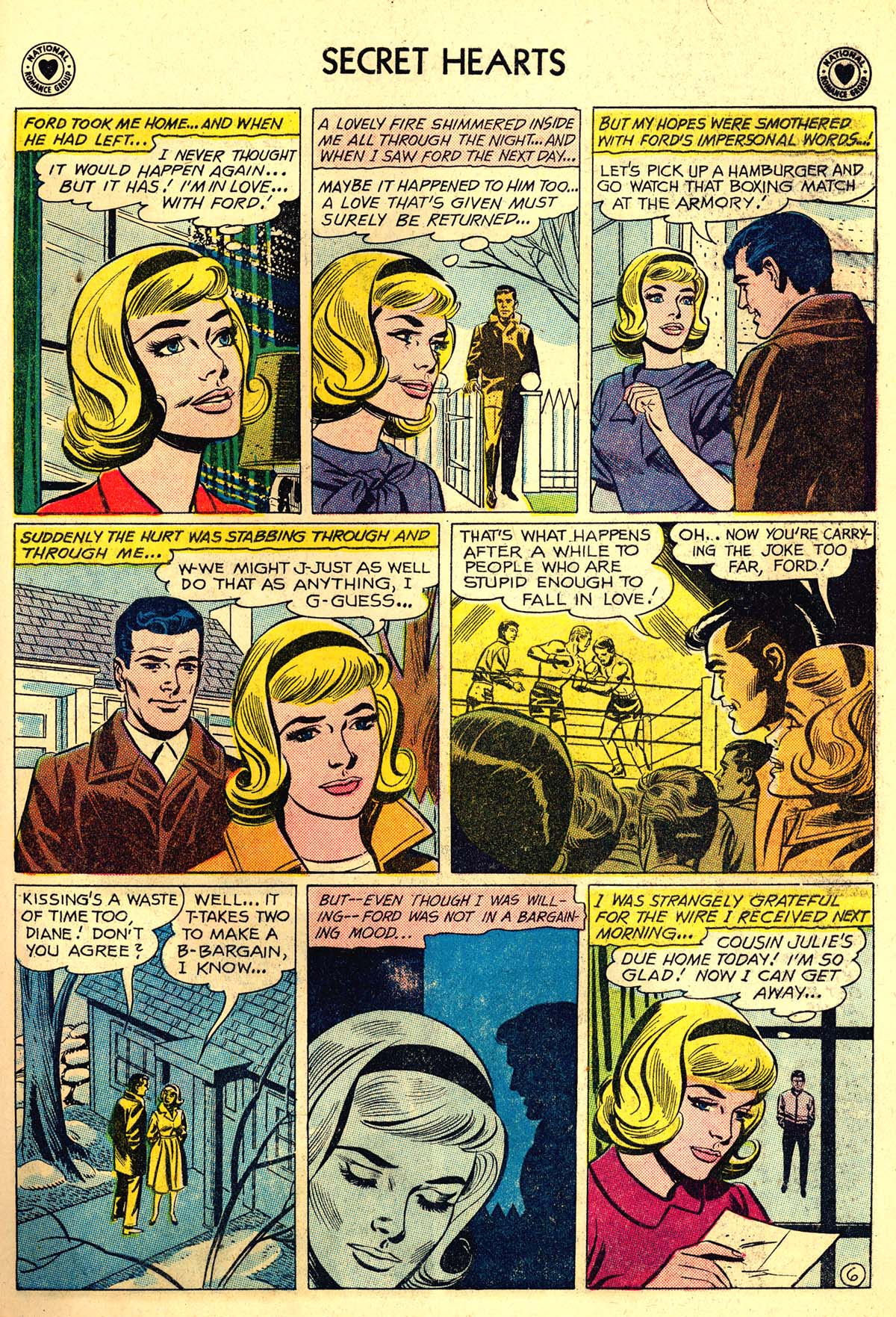 Read online Secret Hearts comic -  Issue #64 - 23