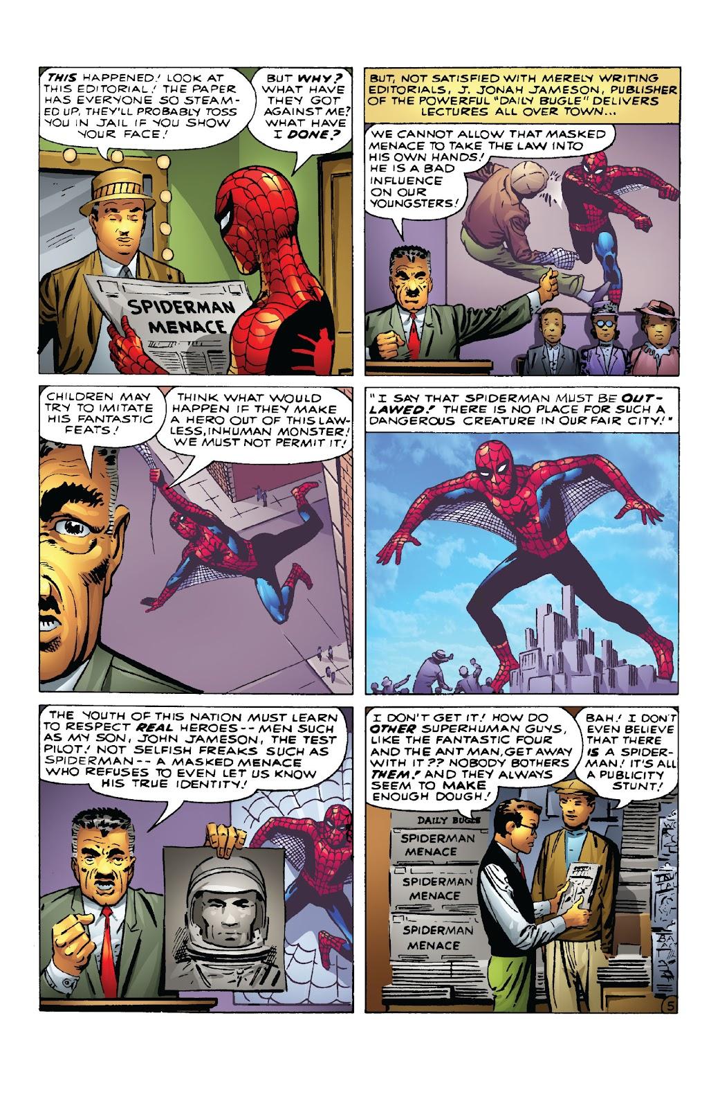 Amazing Fantasy #15: Spider-Man! Full #1 - English 20