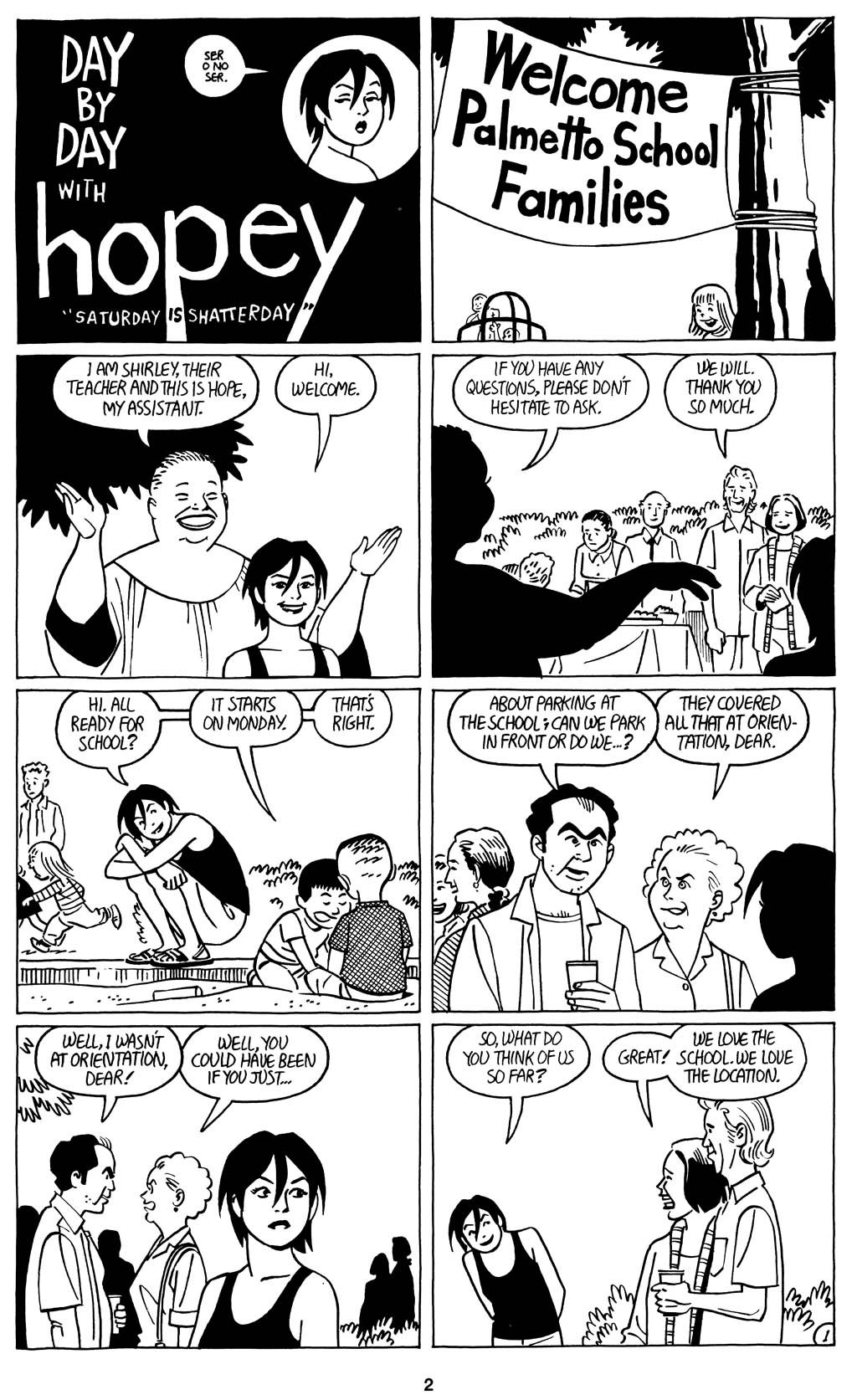 Read online Love and Rockets (2001) comic -  Issue #15 - 4