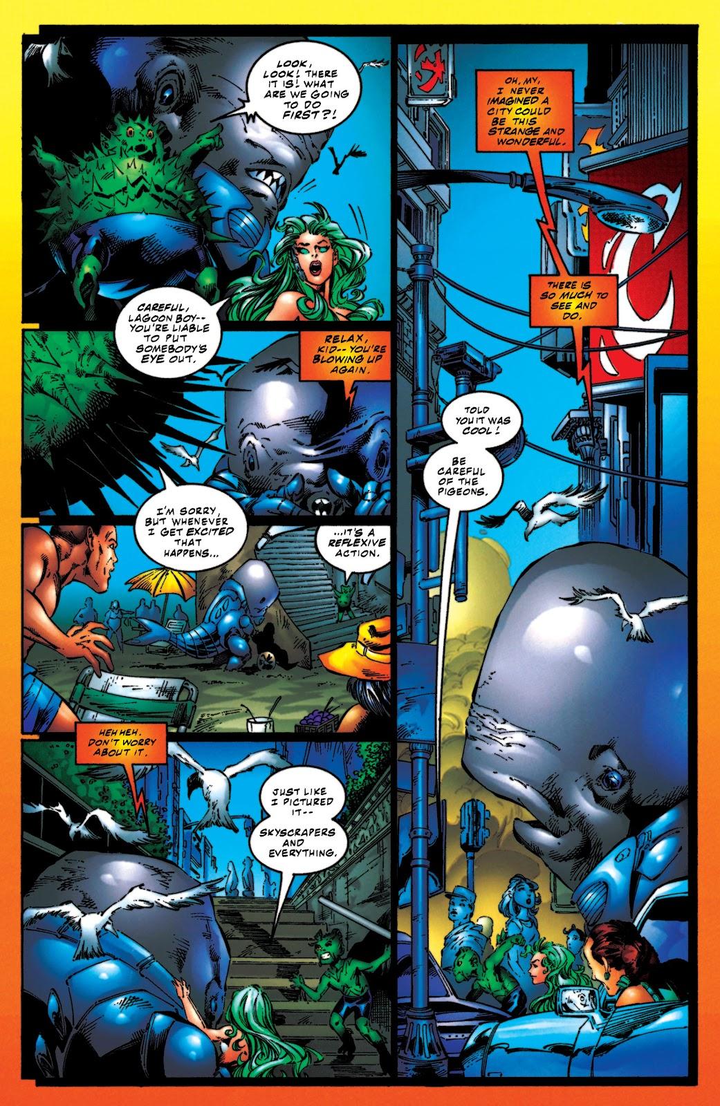 Aquaman (1994) Issue #54 #60 - English 8