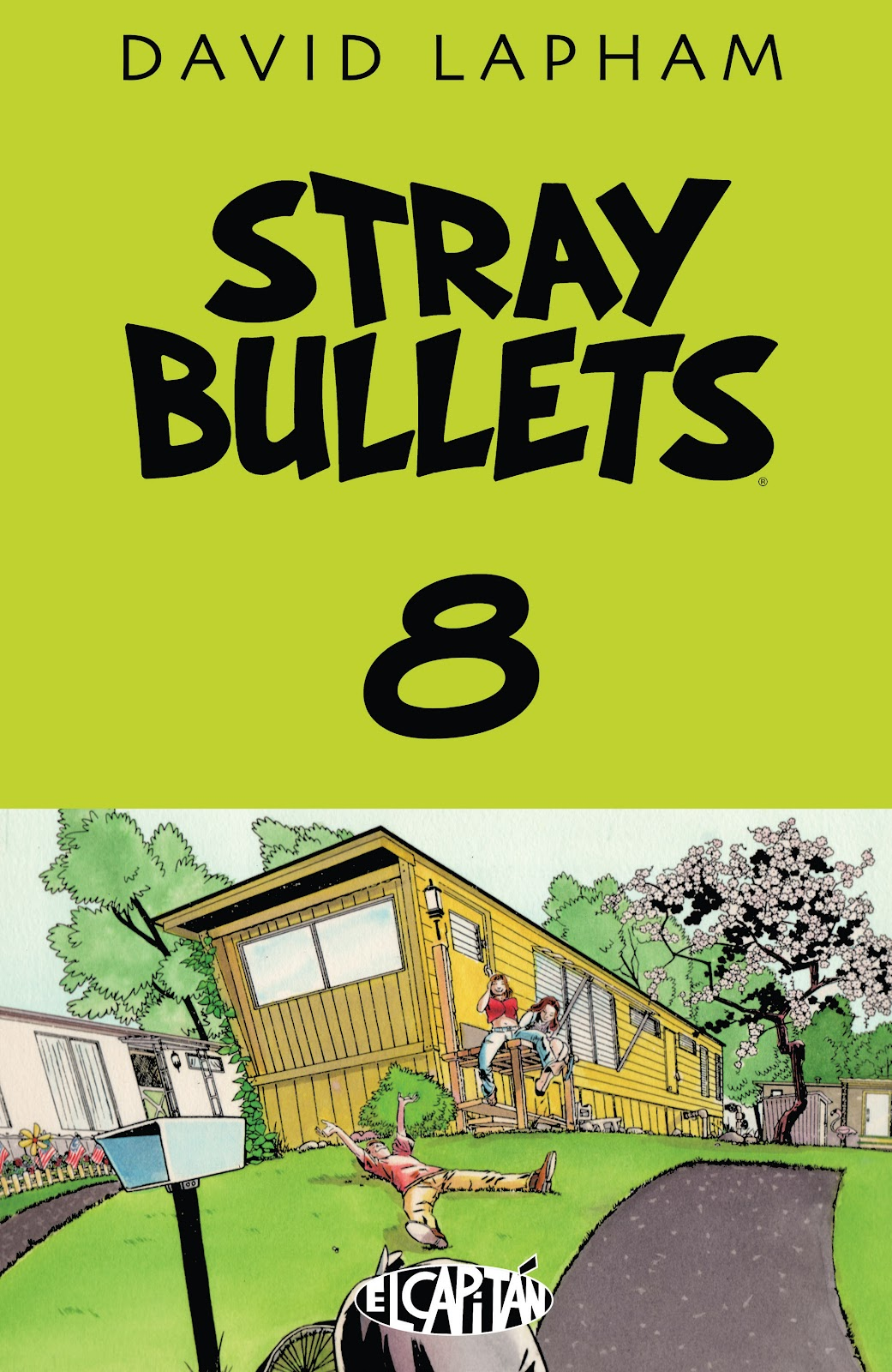 Stray Bullets Issue #8 #8 - English 1