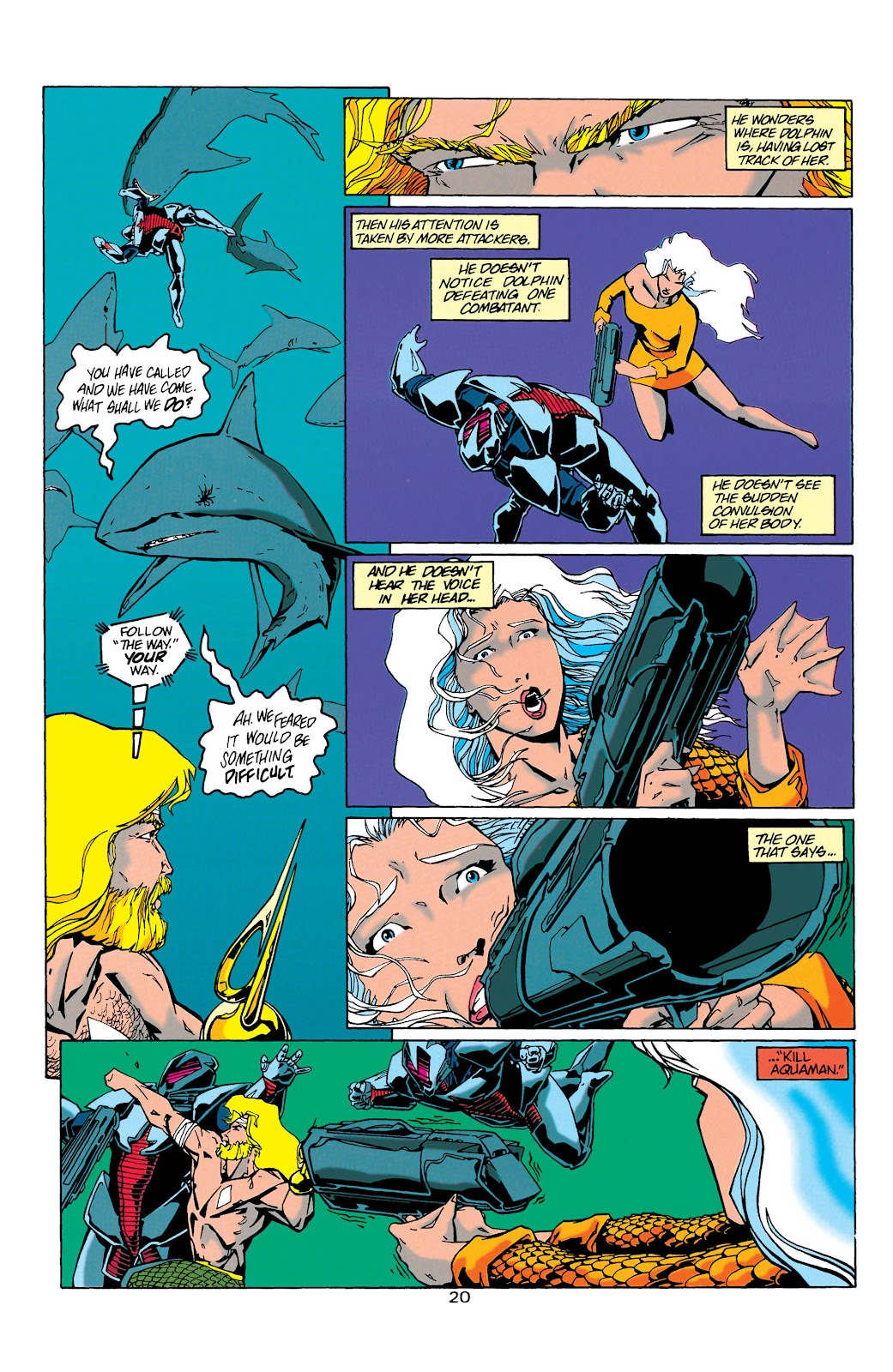 Aquaman (1994) Issue #21 #27 - English 20