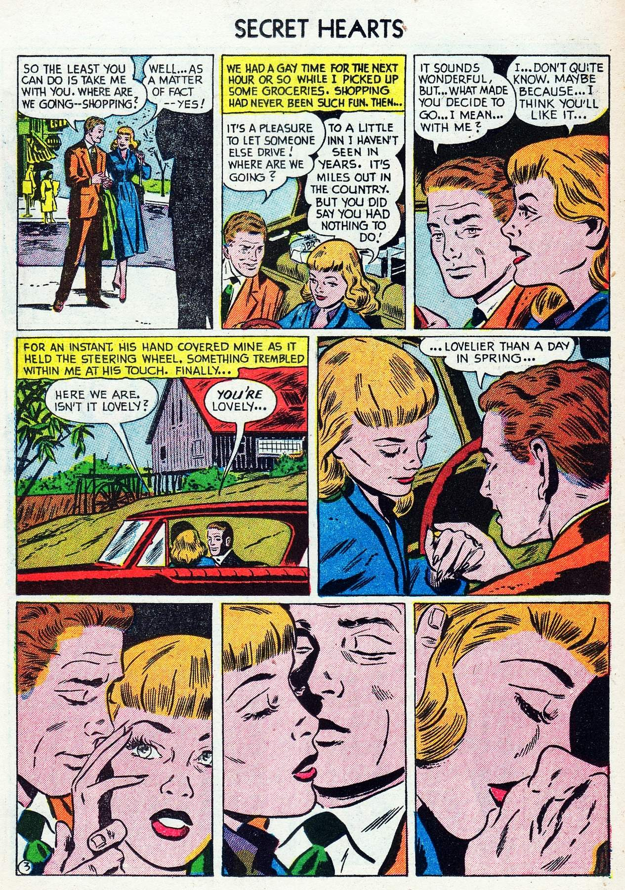 Read online Secret Hearts comic -  Issue #16 - 19