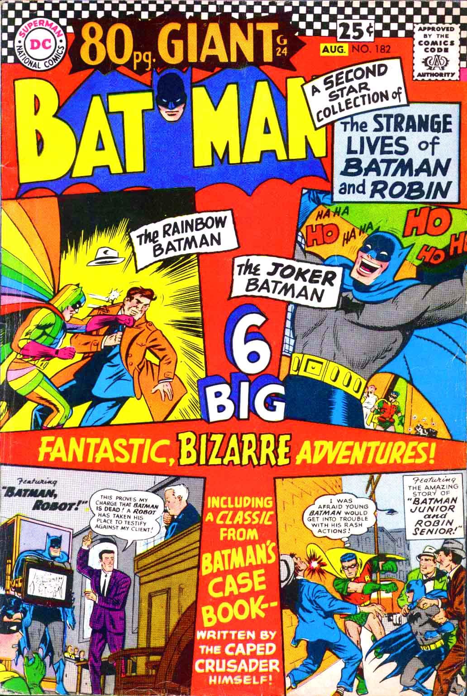 Batman (1940) 182 Page 1