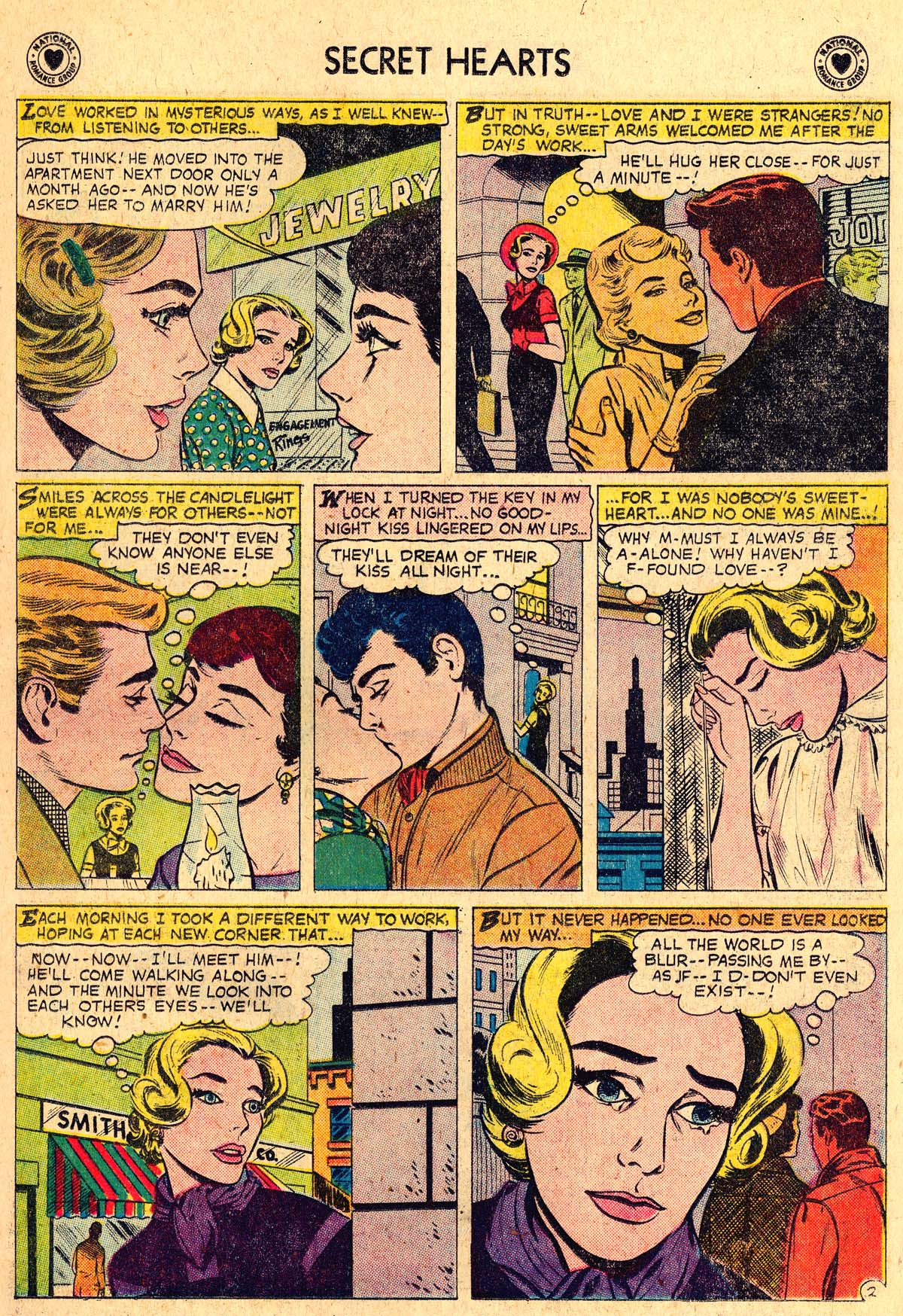 Read online Secret Hearts comic -  Issue #57 - 11