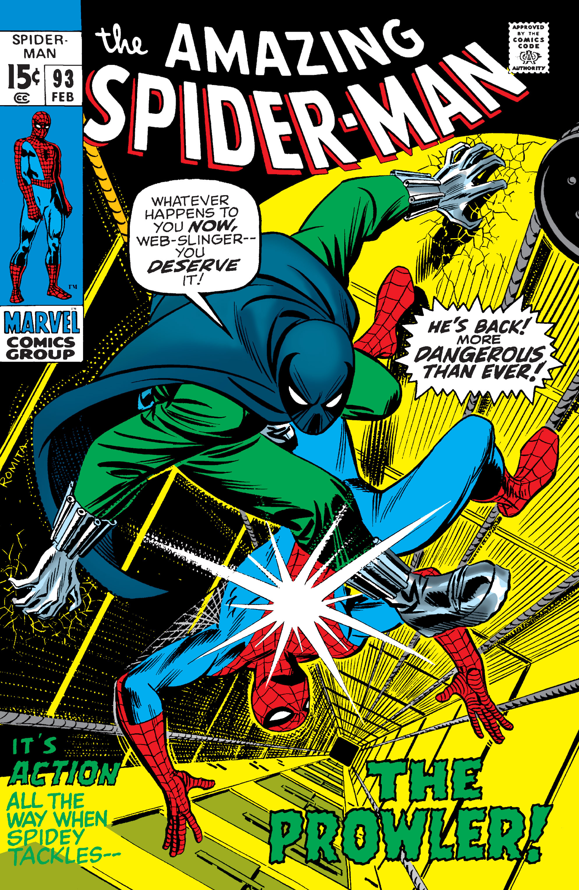 The Amazing Spider-Man (1963) 93 Page 1