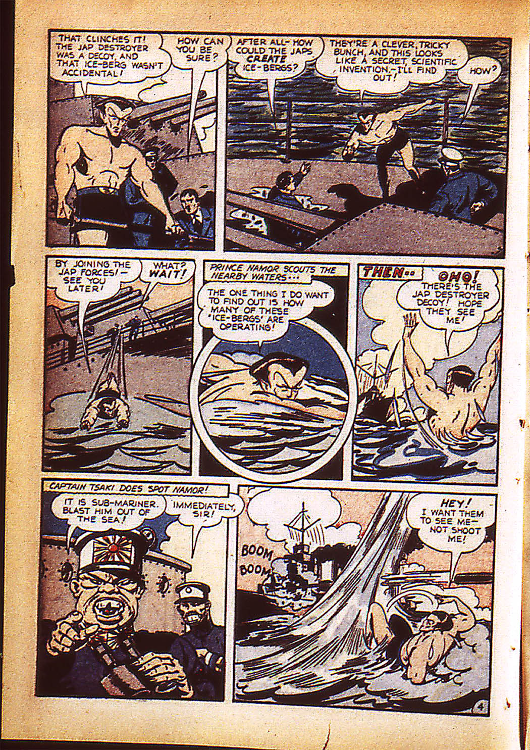 Sub-Mariner Comics Issue #9 #9 - English 7