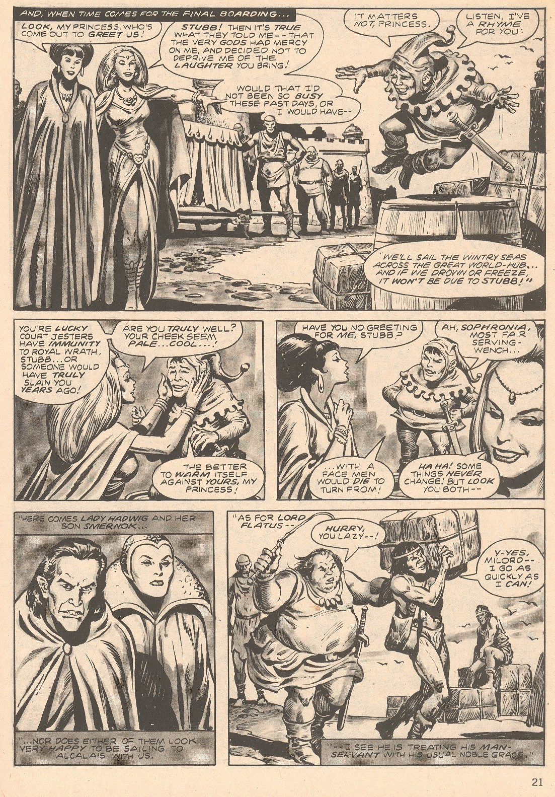 The Savage Sword Of Conan Issue #66 #67 - English 21